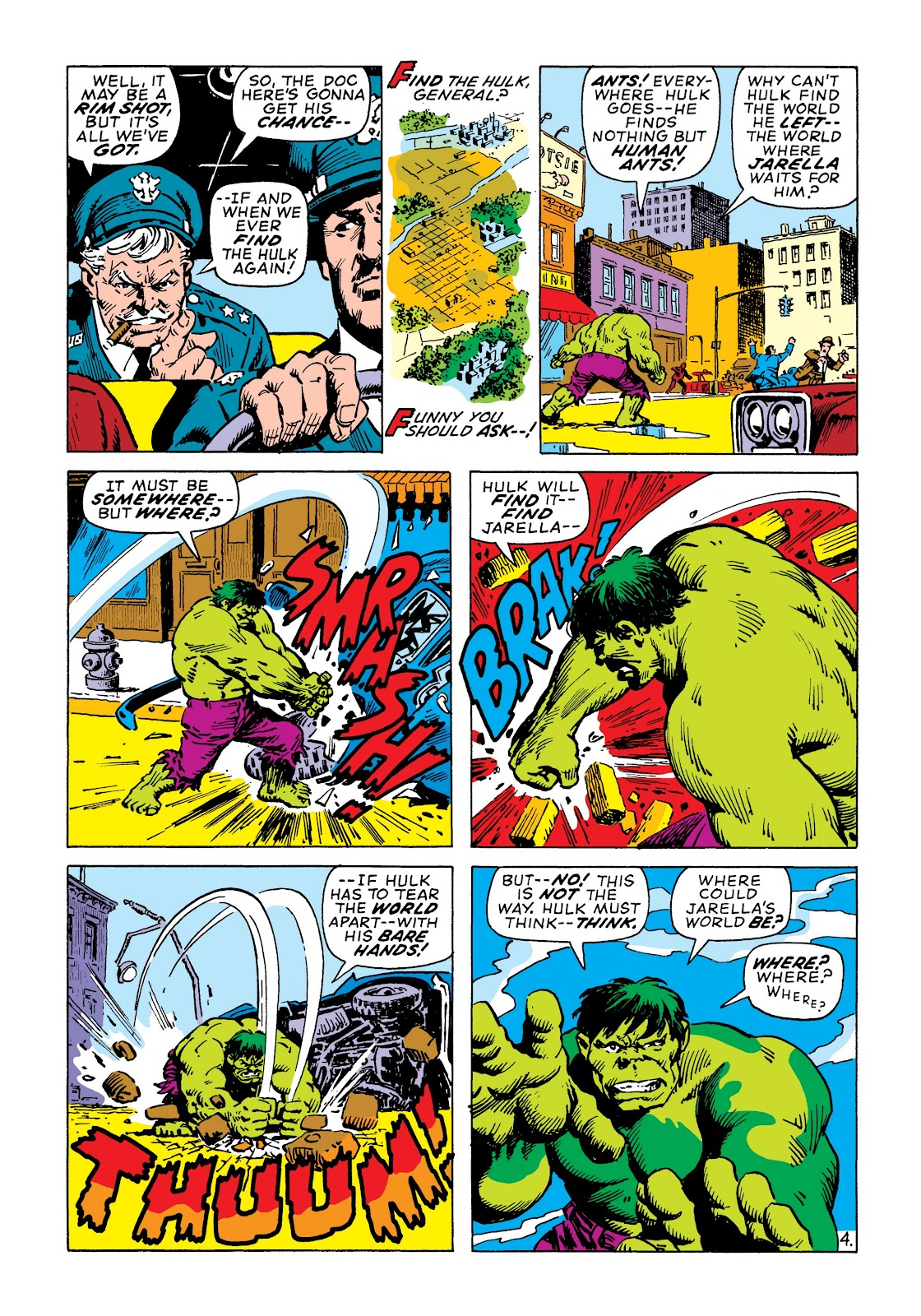 Read online Marvel Masterworks: The Incredible Hulk comic -  Issue # TPB 7 (Part 2) - 51
