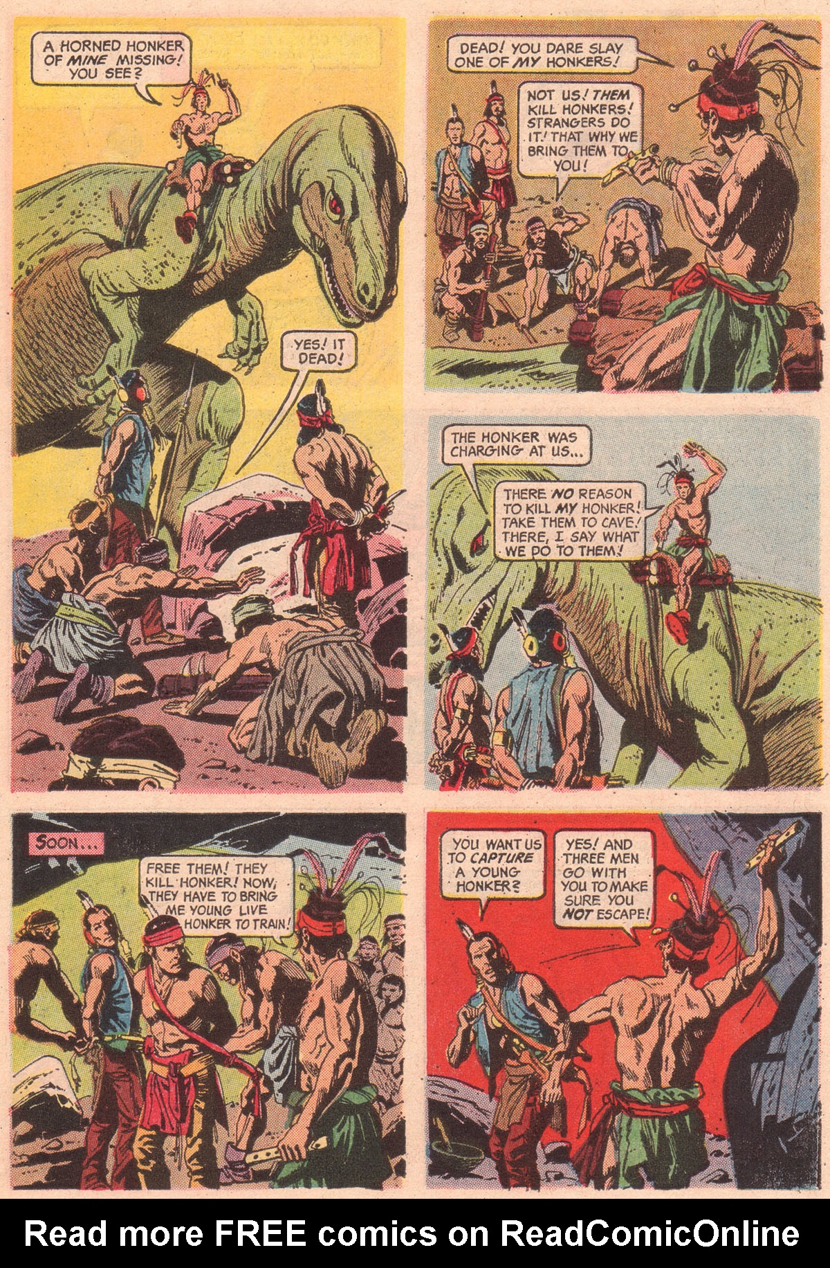 Read online Turok, Son of Stone comic -  Issue #56 - 7