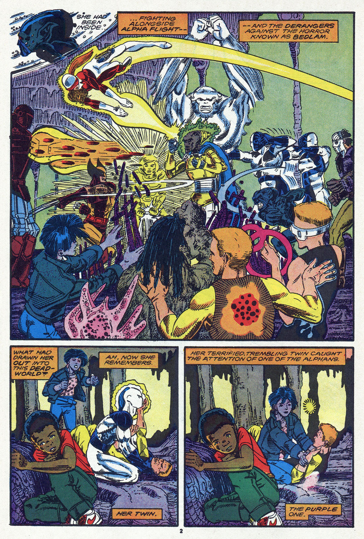 Read online Alpha Flight (1983) comic -  Issue #54 - 4