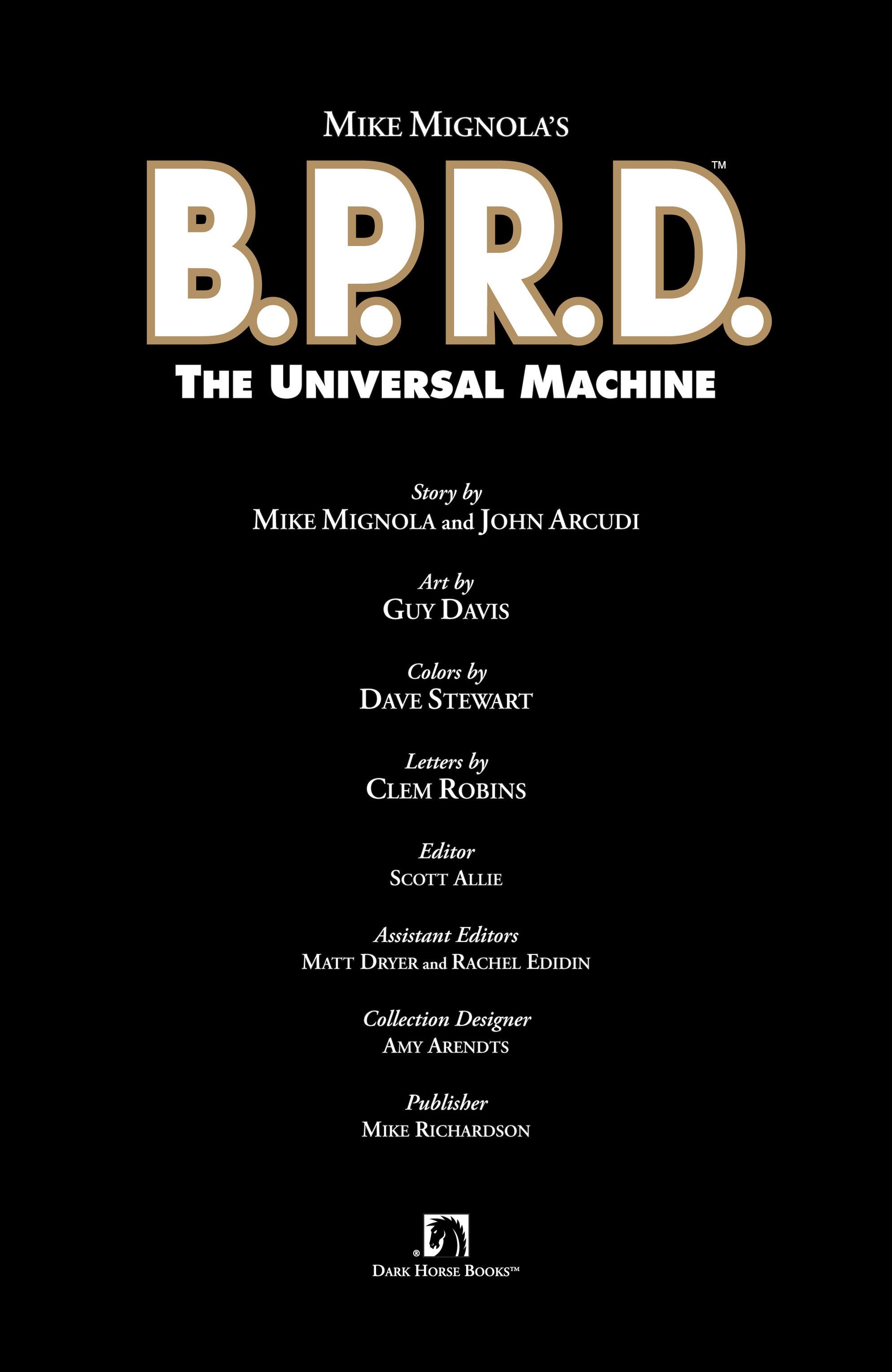 Read online B.P.R.D. (2003) comic -  Issue # TPB 6 - 5