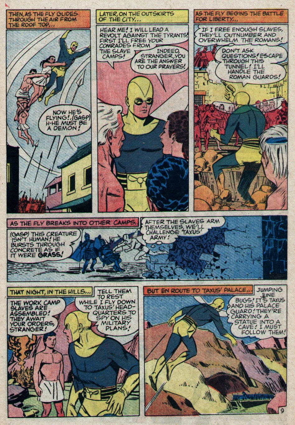 Adventures of the Fly issue 8 - Page 20