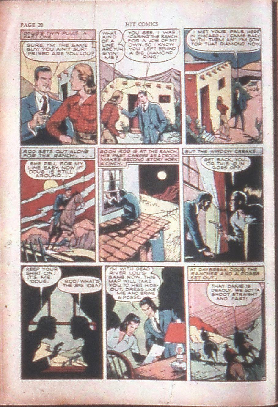 Read online Hit Comics comic -  Issue #15 - 22