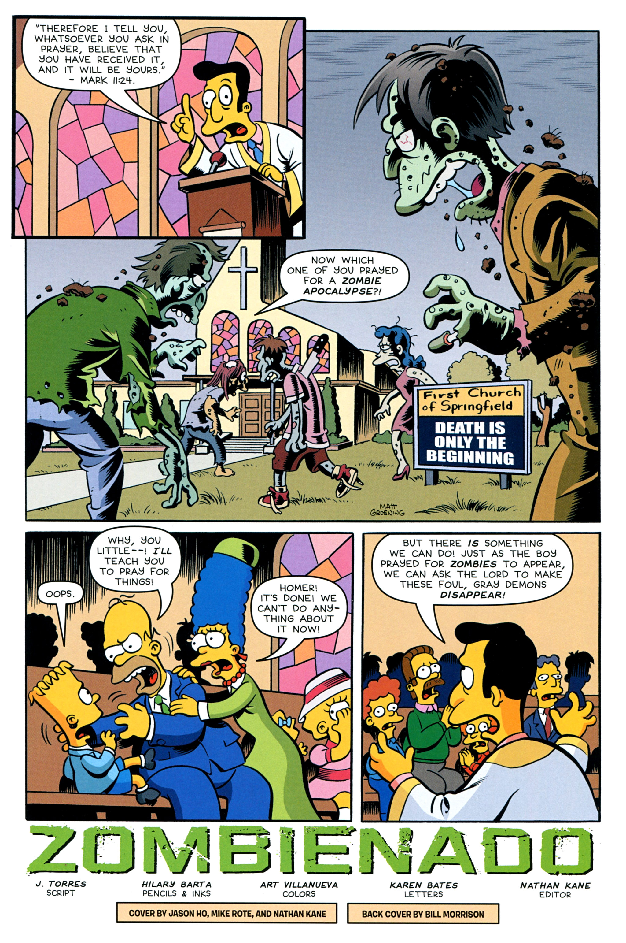 Read online Treehouse of Horror comic -  Issue #20 - 3