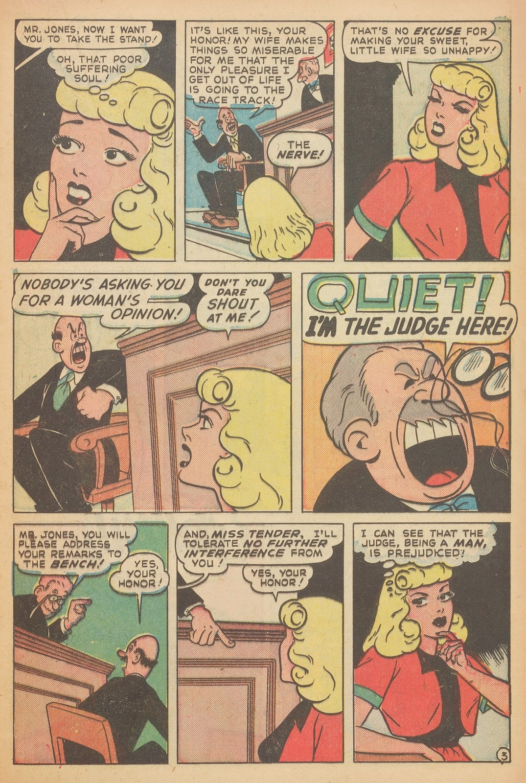 Read online Nellie The Nurse (1945) comic -  Issue #15 - 21