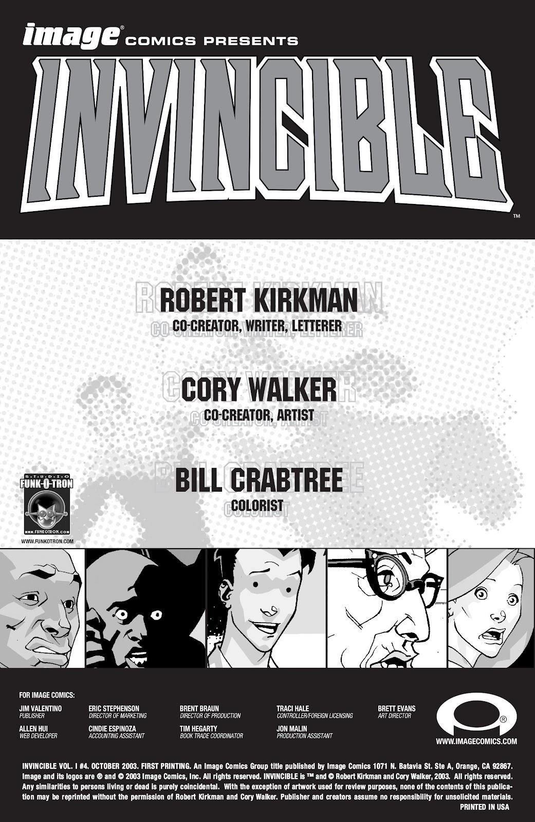 Invincible (2003) 6 Page 2