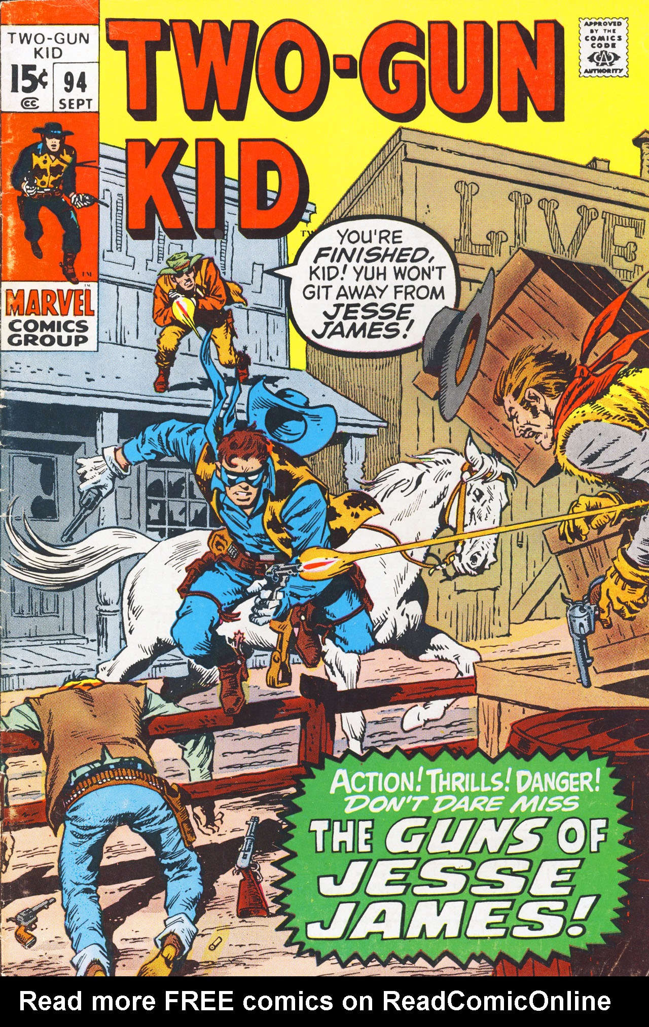 Read online Two-Gun Kid comic -  Issue #94 - 1
