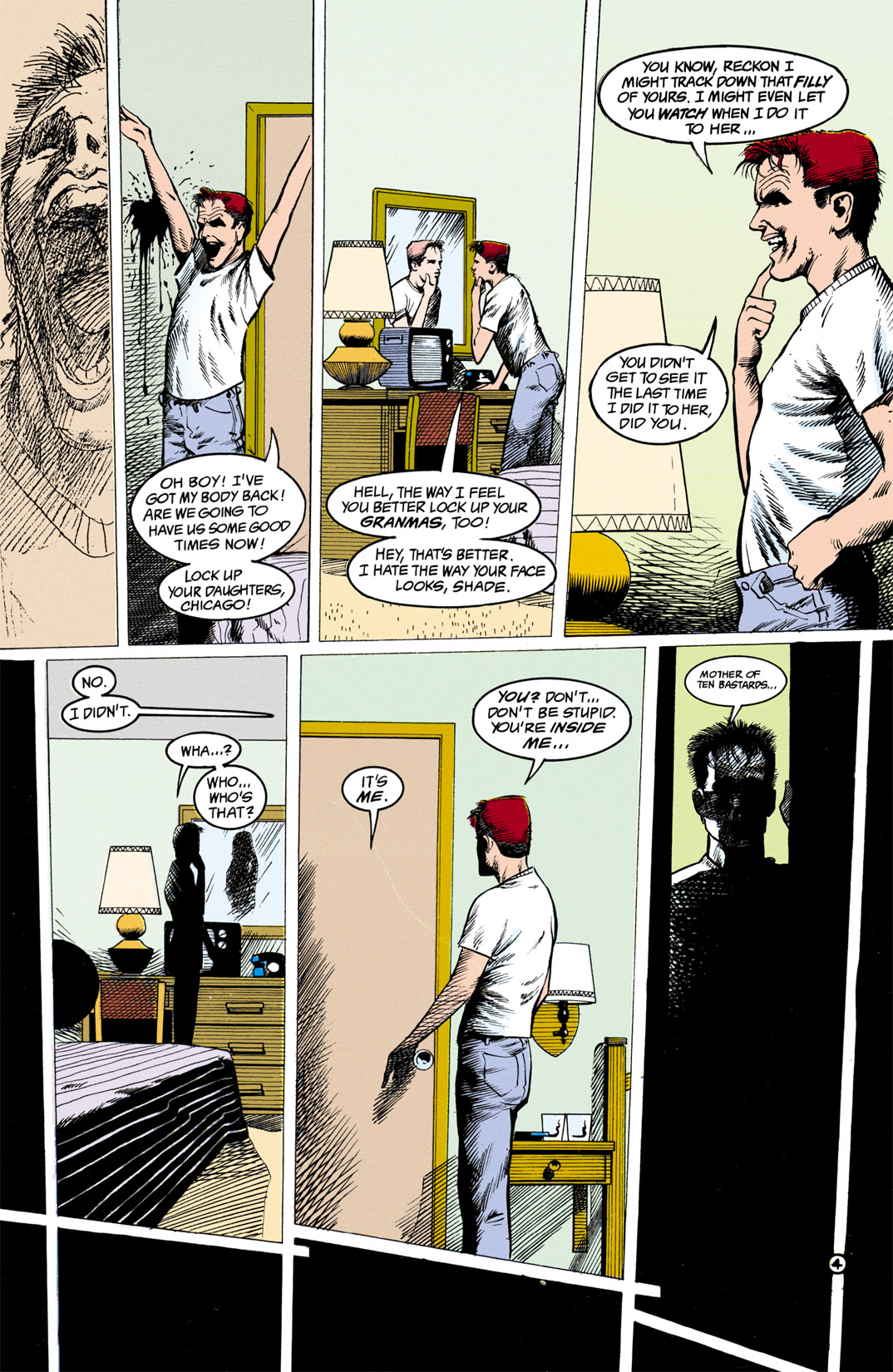 Read online Shade, the Changing Man comic -  Issue #13 - 5