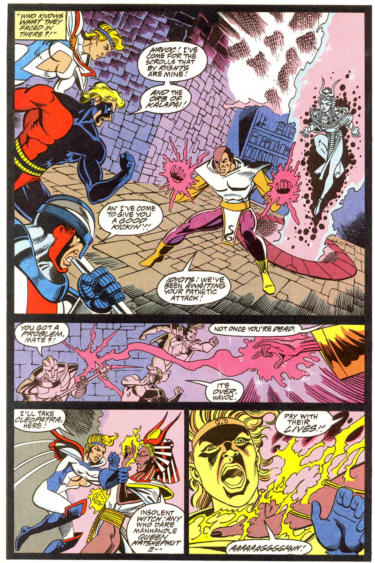 Read online Peter Cannon--Thunderbolt (1992) comic -  Issue #11 - 6