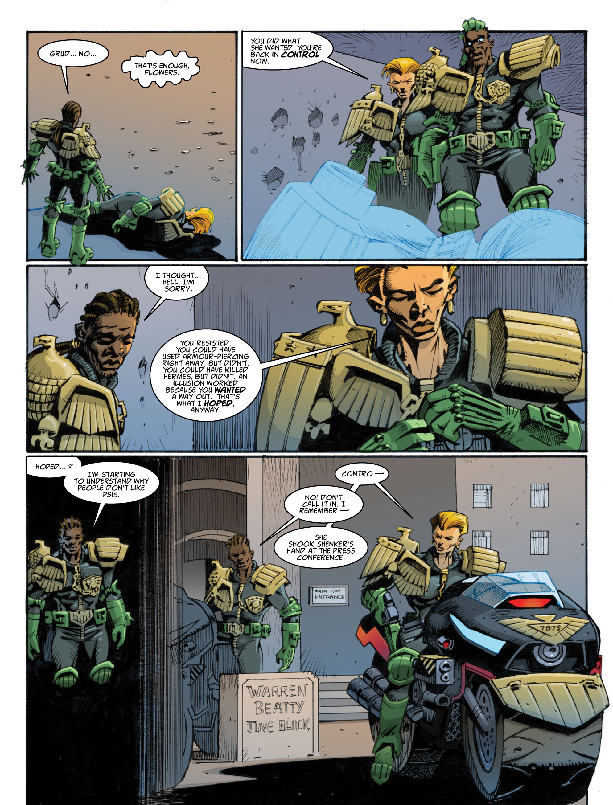 Read online 2000 AD comic -  Issue #1998 - 27