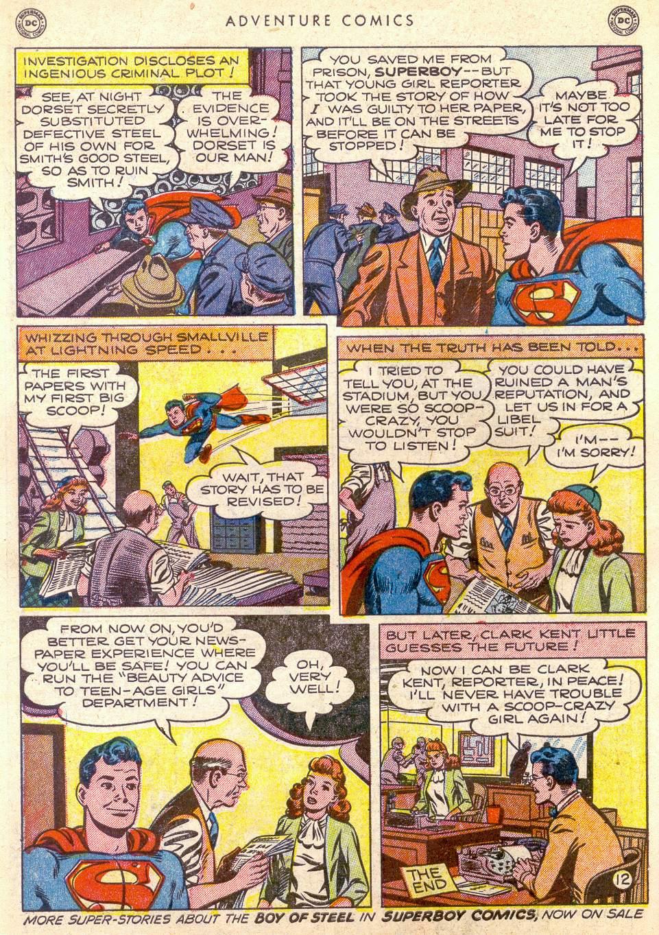 Read online Adventure Comics (1938) comic -  Issue #161 - 14