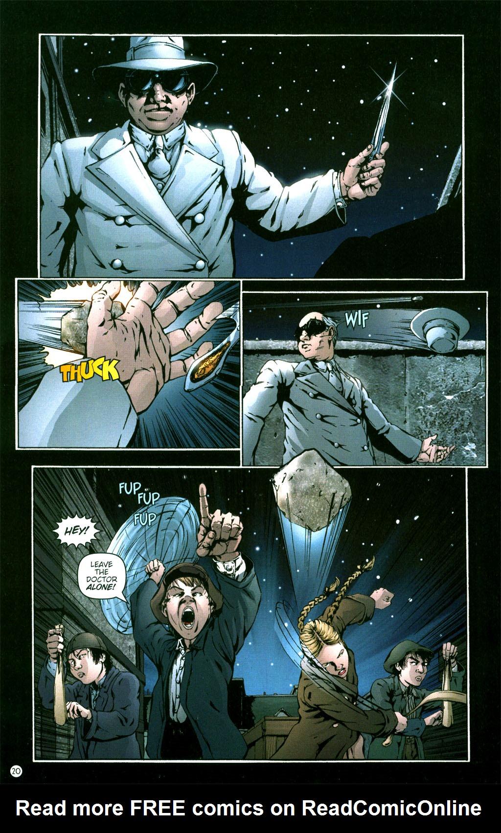 Read online Rex Mundi comic -  Issue #5 - 22