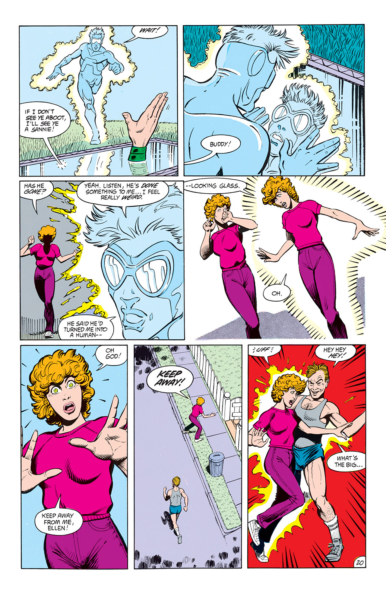 Read online Animal Man (1988) comic -  Issue #8 - 22
