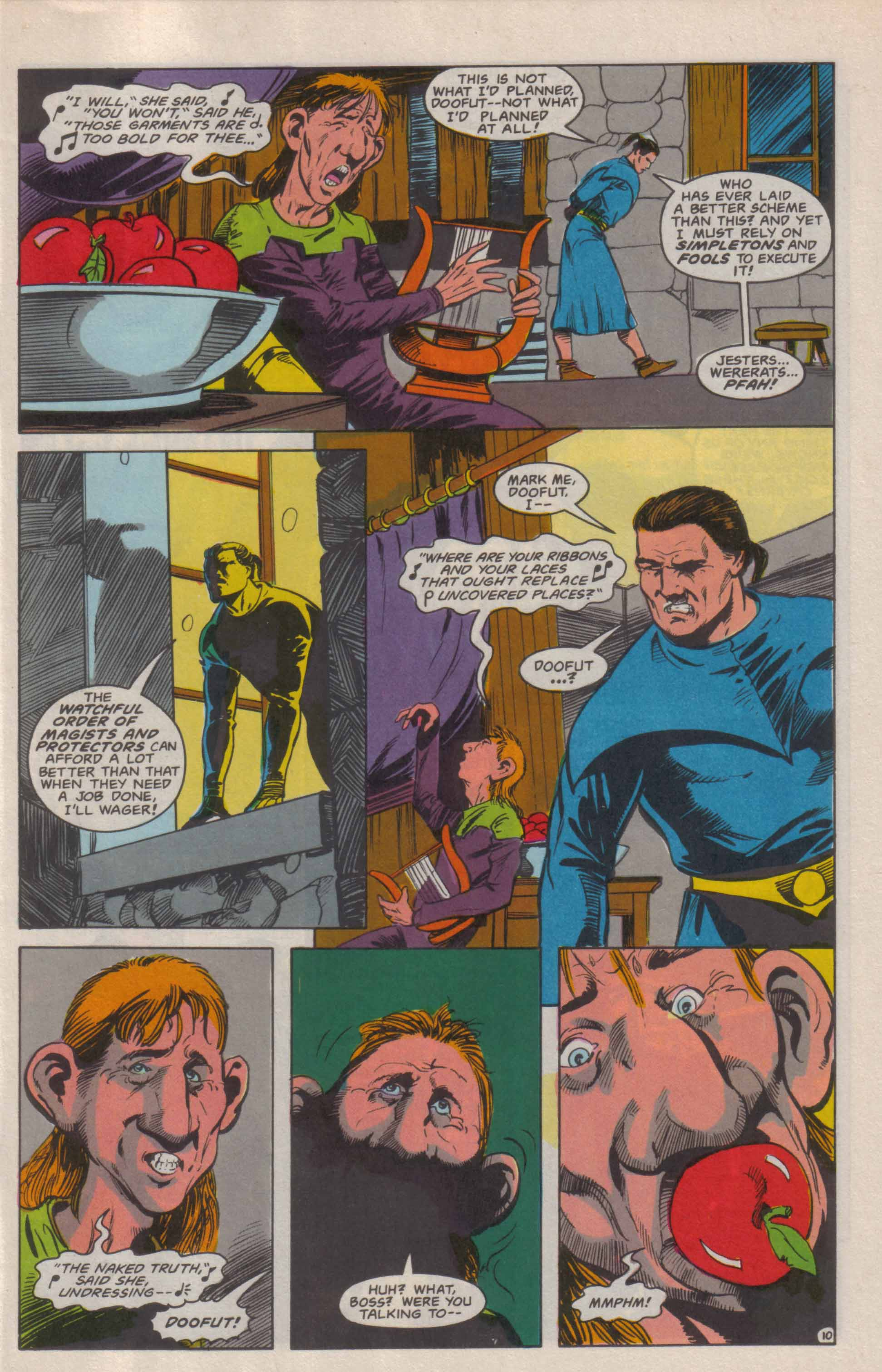 Read online Advanced Dungeons & Dragons comic -  Issue #6 - 11