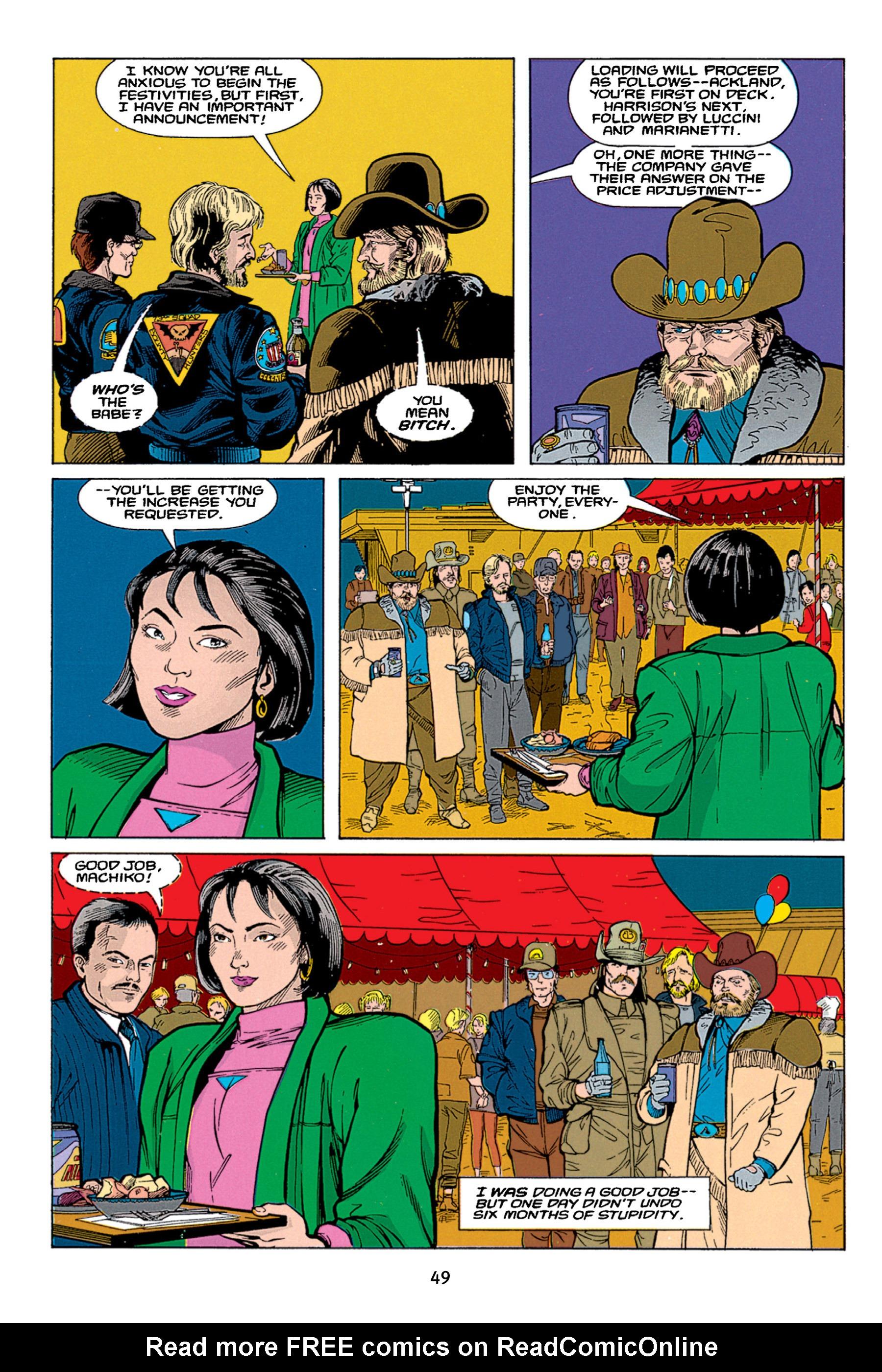 Read online Aliens vs. Predator Omnibus comic -  Issue # _TPB 1 Part 1 - 49