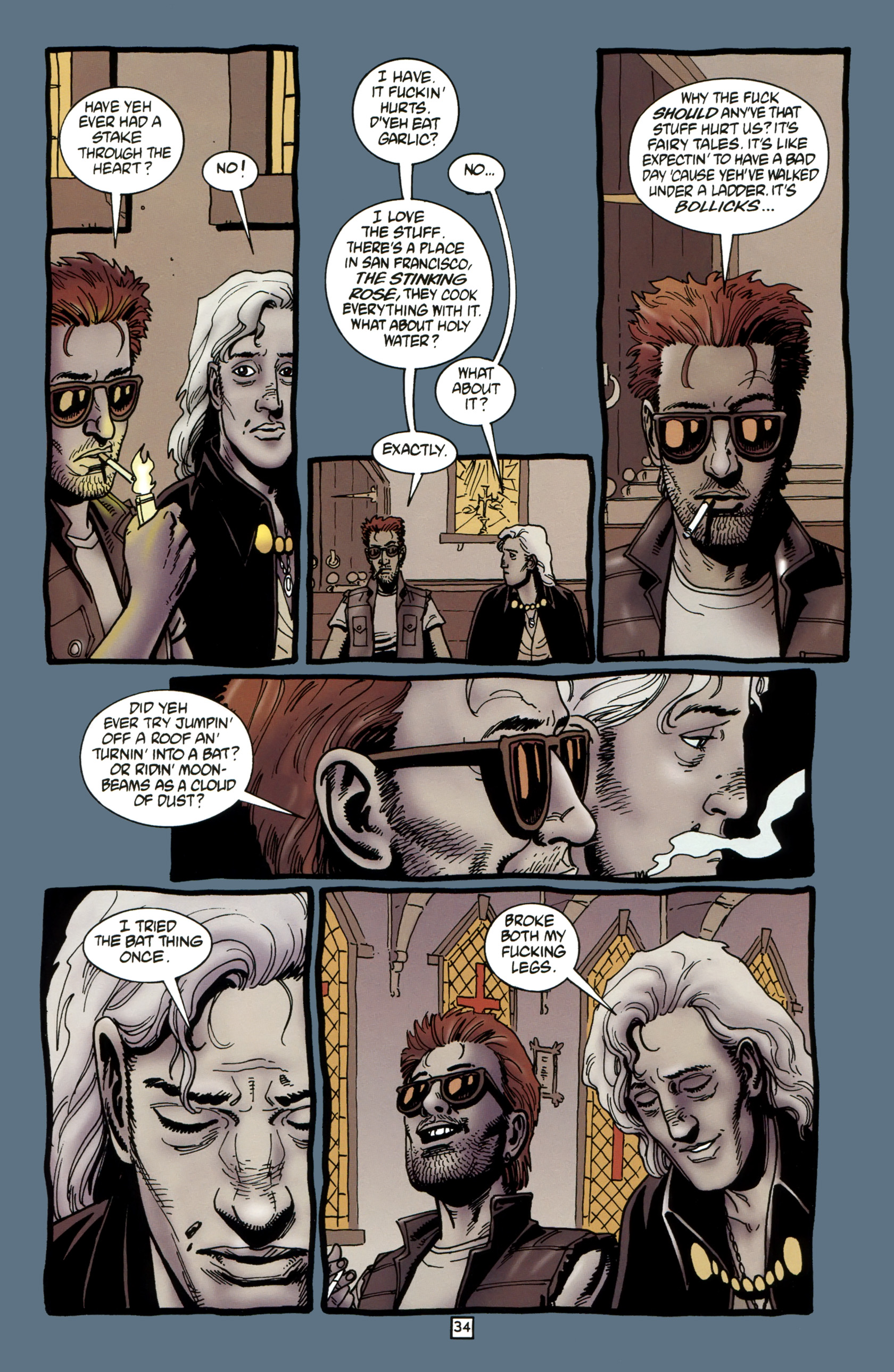 Read online Preacher Special: Cassidy : Blood and Whiskey comic -  Issue # Full - 36