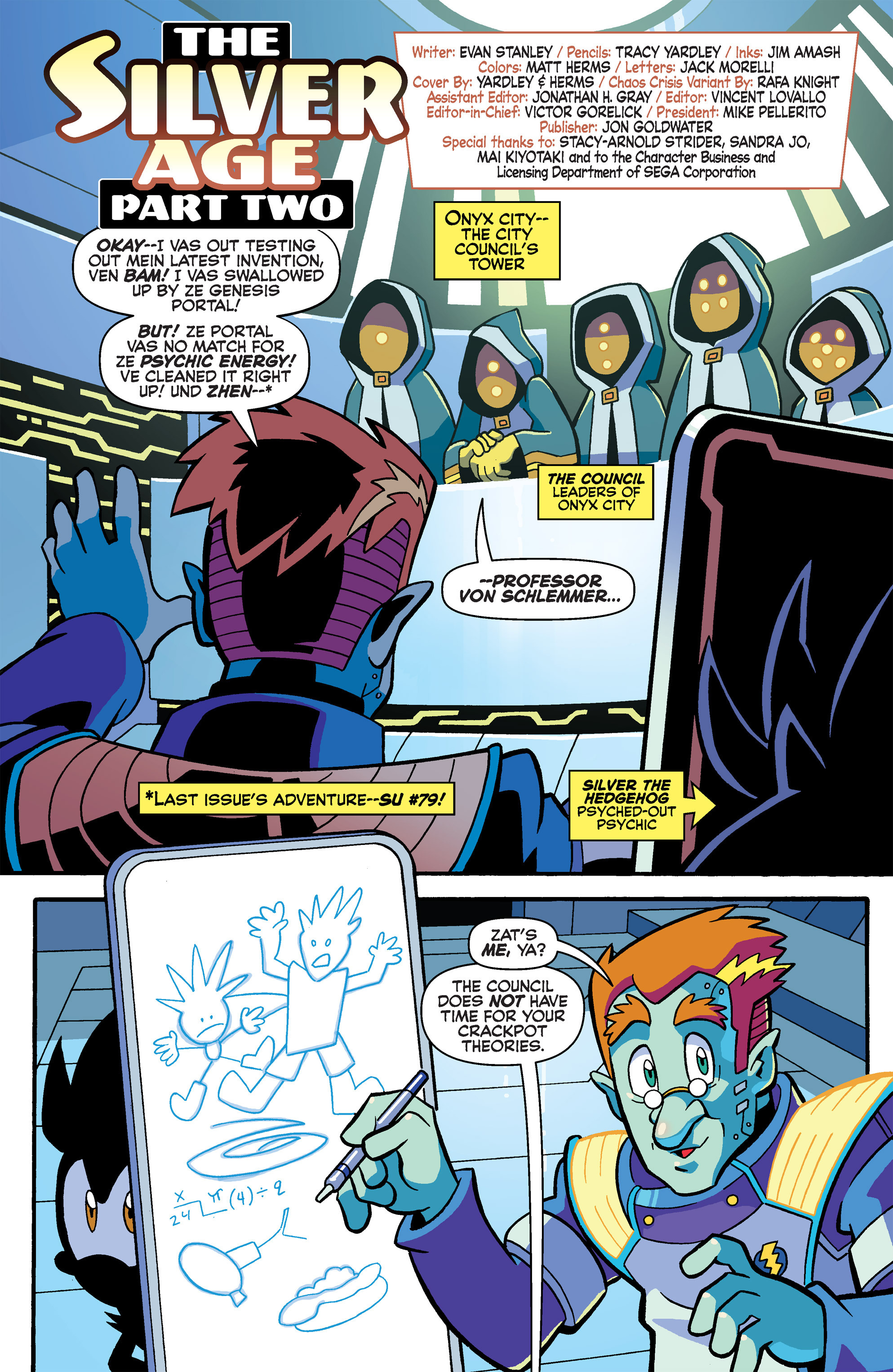 Read online Sonic Universe comic -  Issue #80 - 3