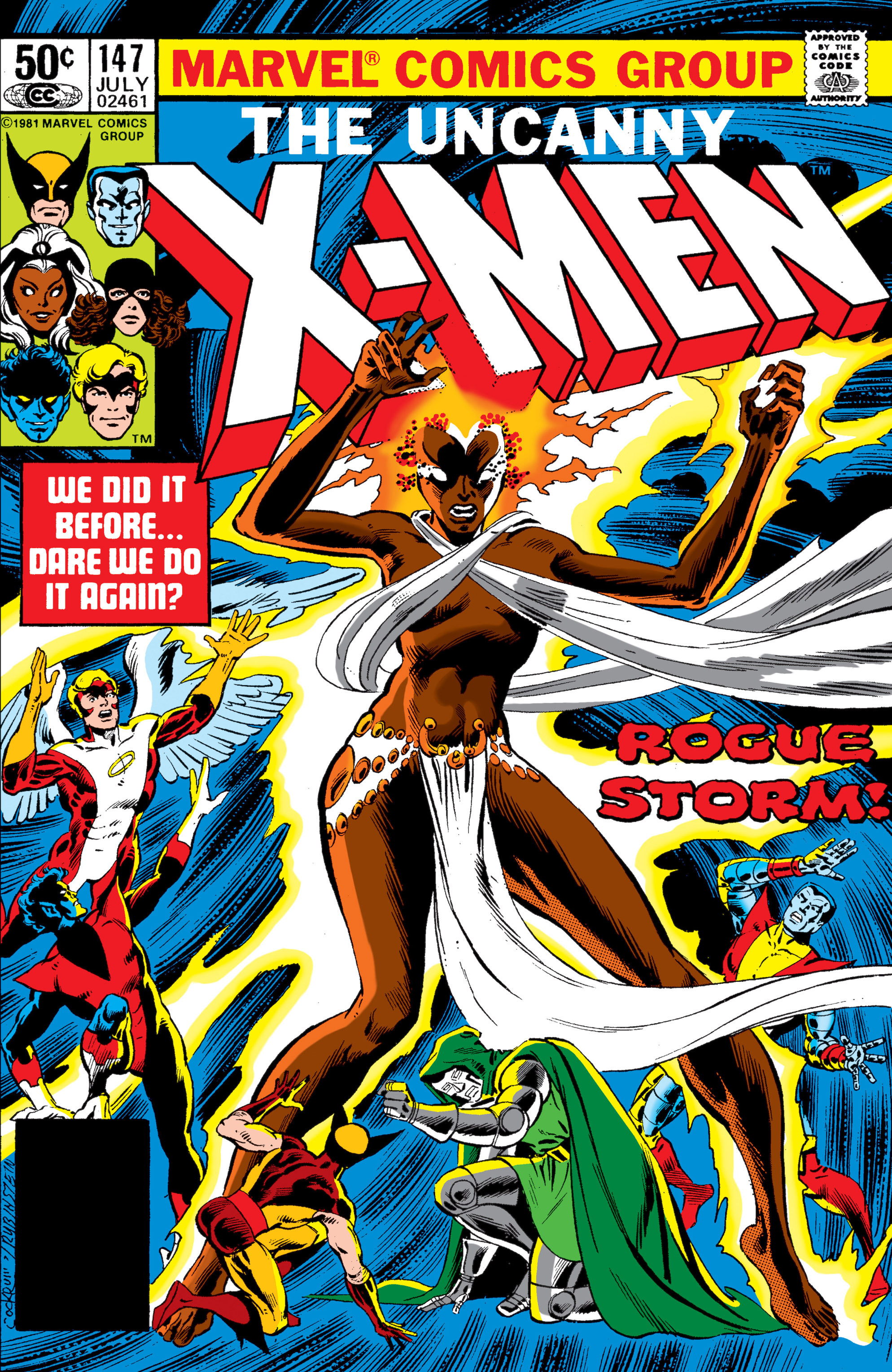 Read online Uncanny X-Men (1963) comic -  Issue #147 - 1