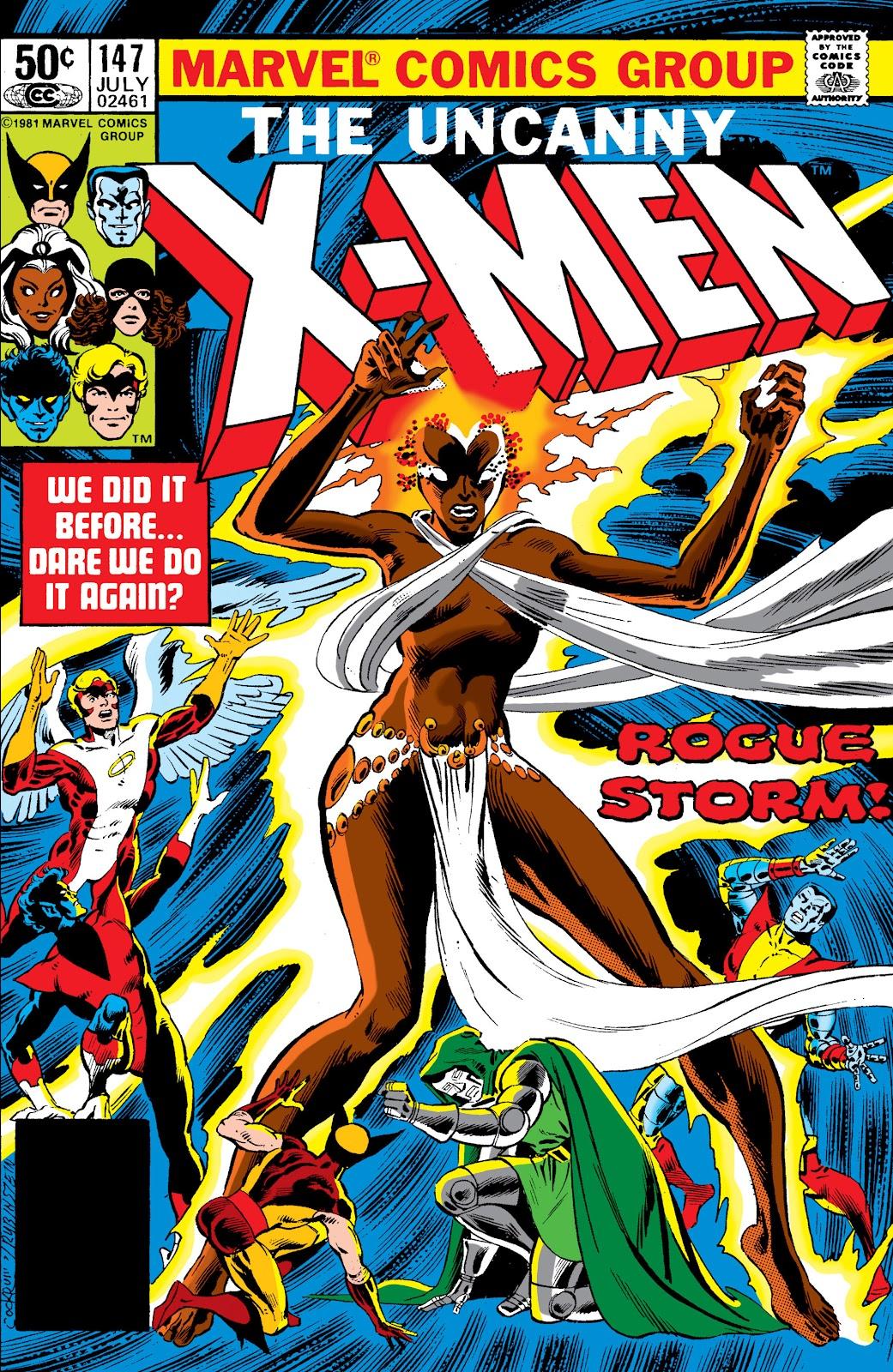Uncanny X-Men (1963) issue 147 - Page 1