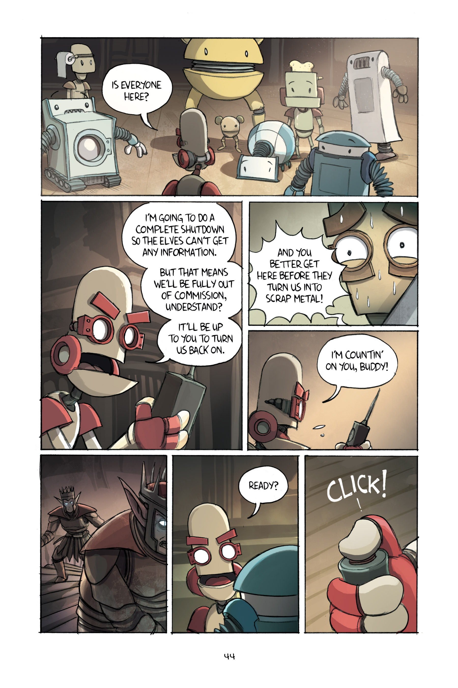 Read online Amulet comic -  Issue #2 - 46
