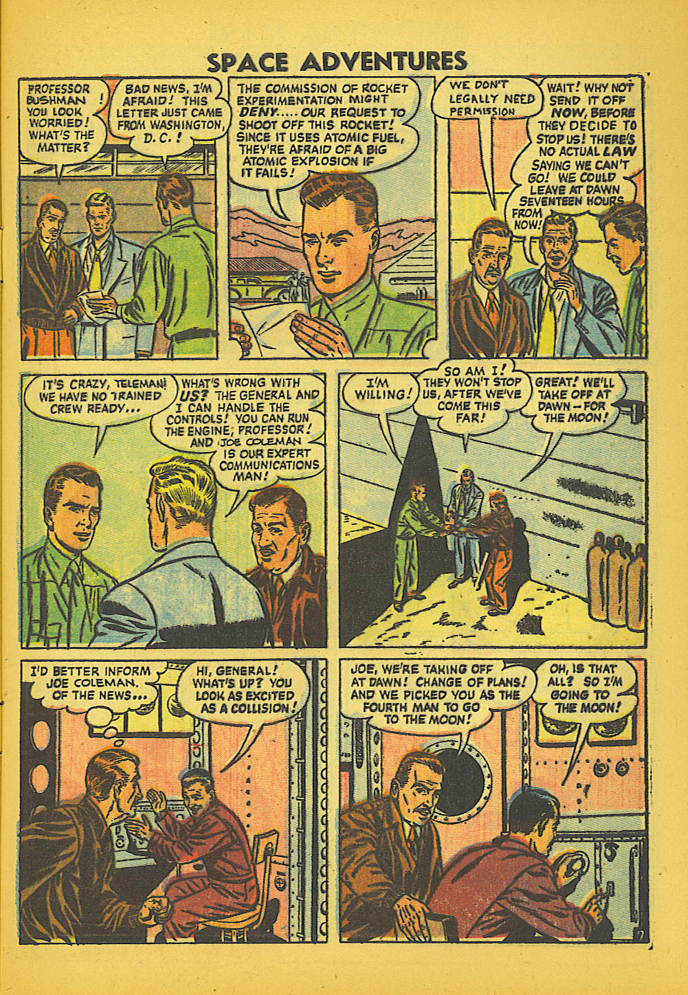 Space Adventures (1952) issue 20 - Page 9