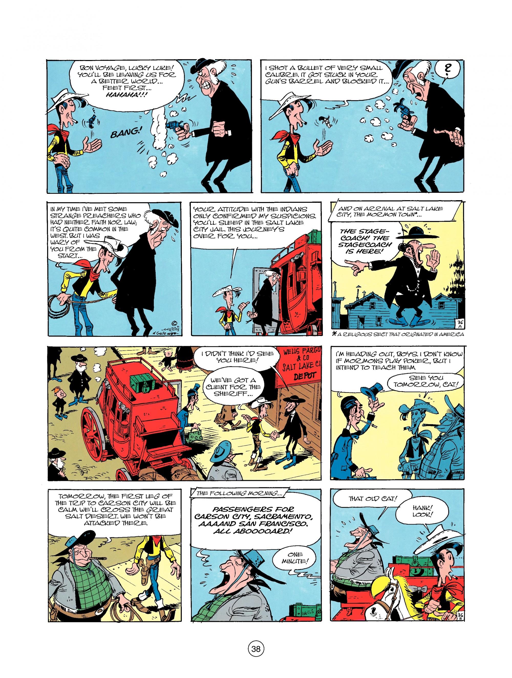 Read online A Lucky Luke Adventure comic -  Issue #25 - 38