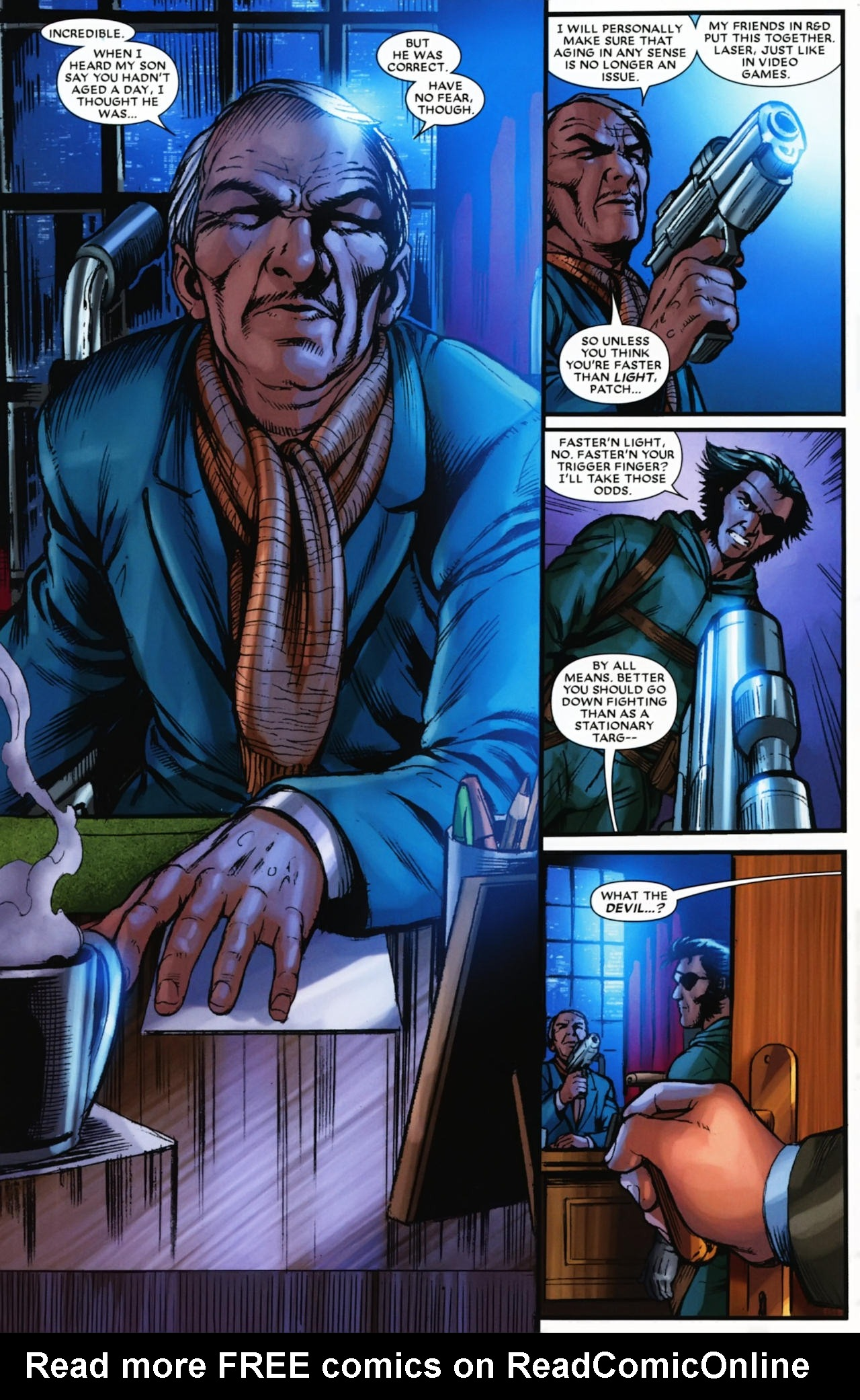 Read online Wolverine: First Class comic -  Issue #17 - 21