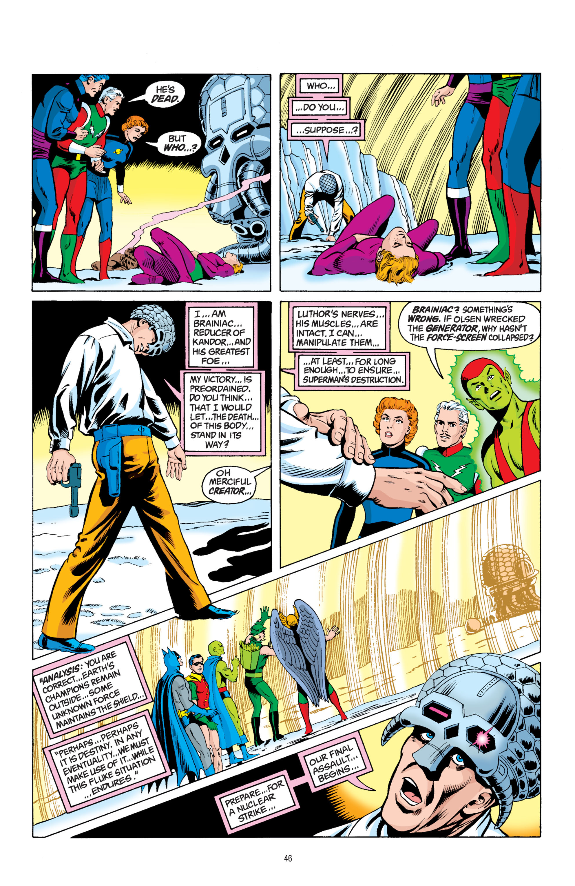 Read online Superman: Whatever Happened to the Man of Tomorrow? comic -  Issue # TPB - 45