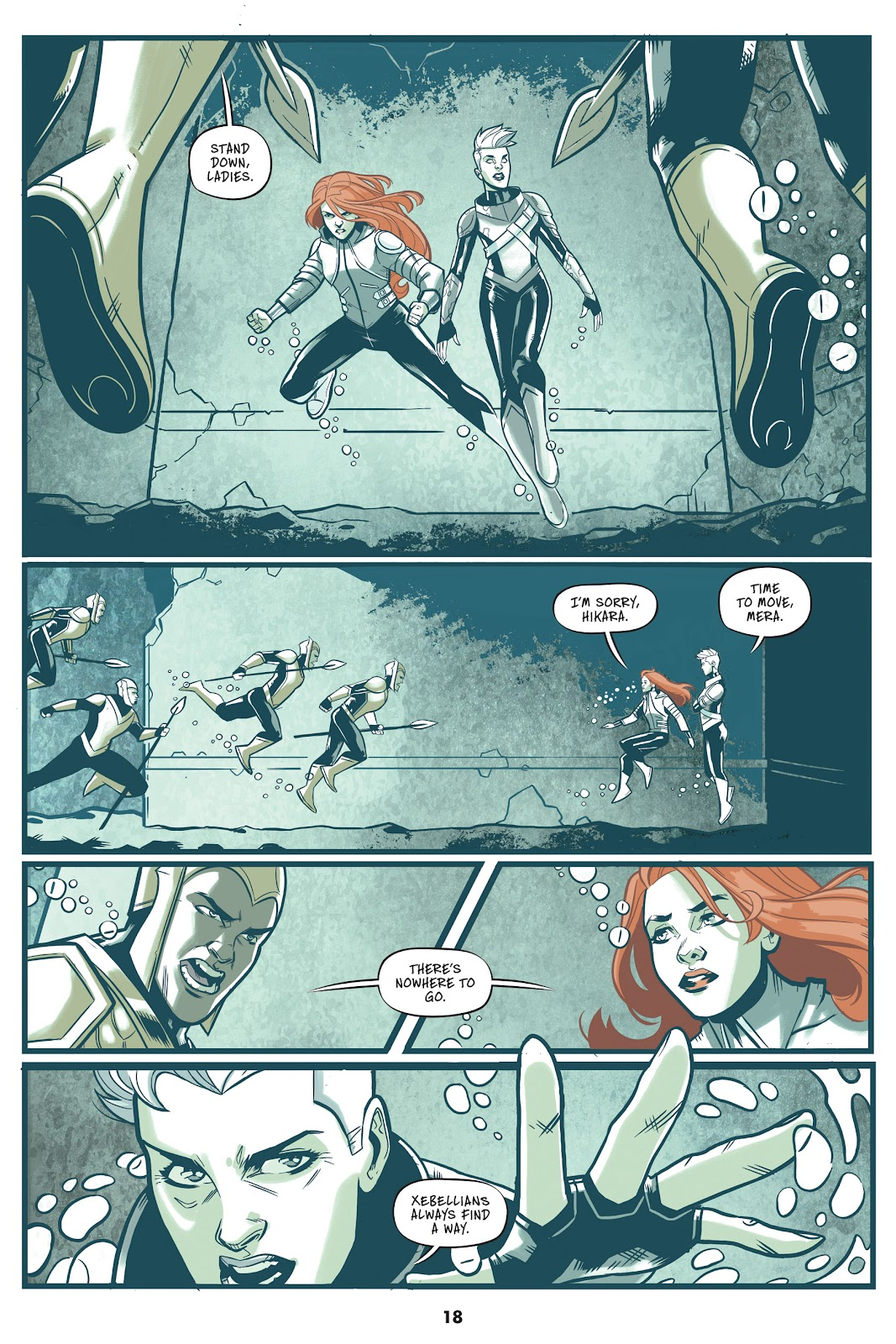 Read online Mera: Tidebreaker comic -  Issue # TPB (Part 1) - 18