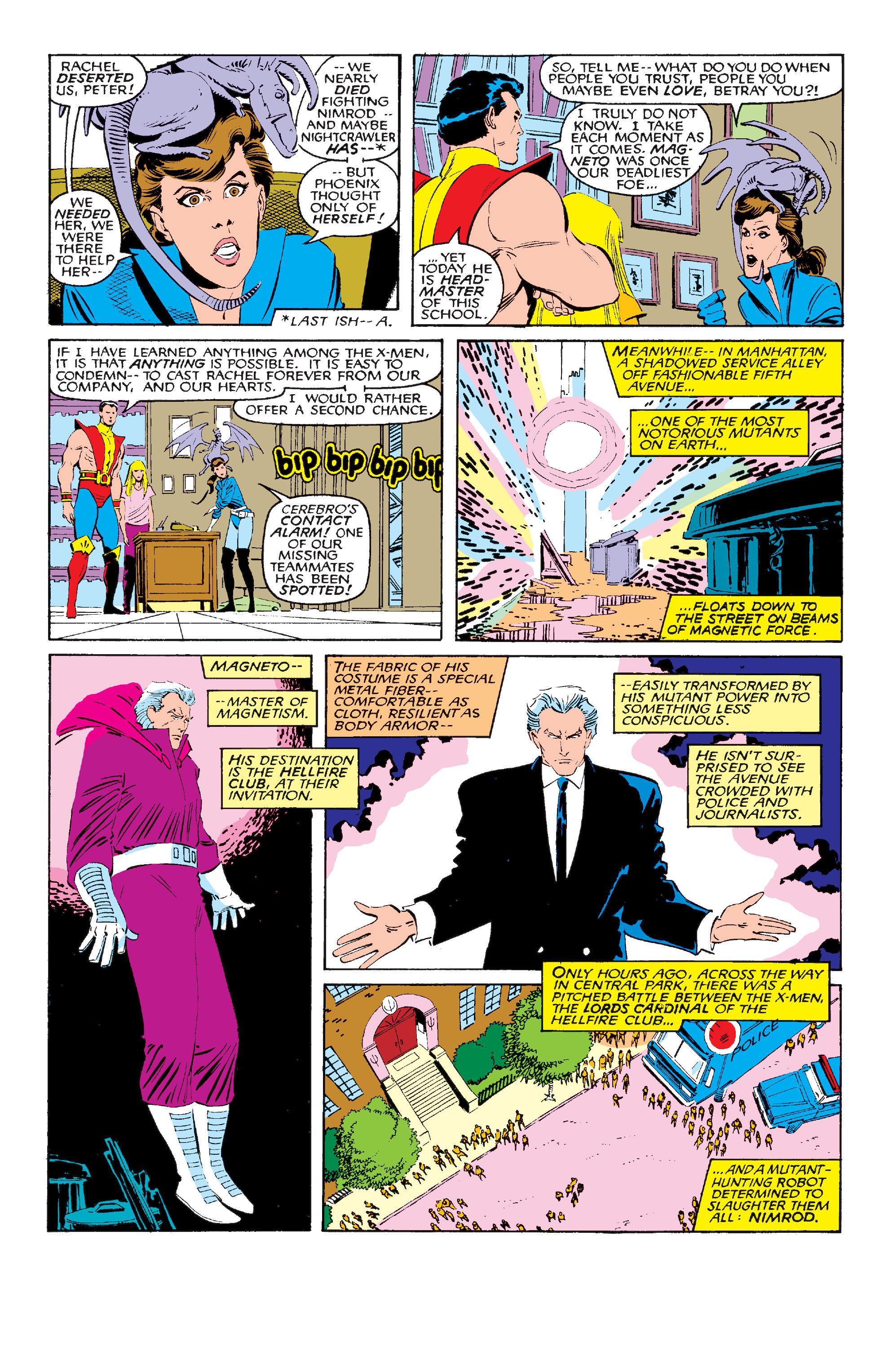 Read online Uncanny X-Men (1963) comic -  Issue #210 - 16