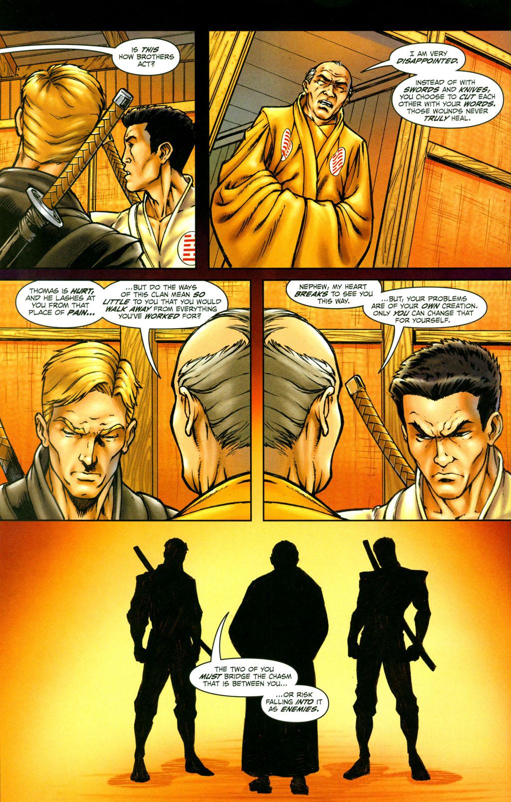 Read online Snake Eyes: Declassified comic -  Issue #4 - 20