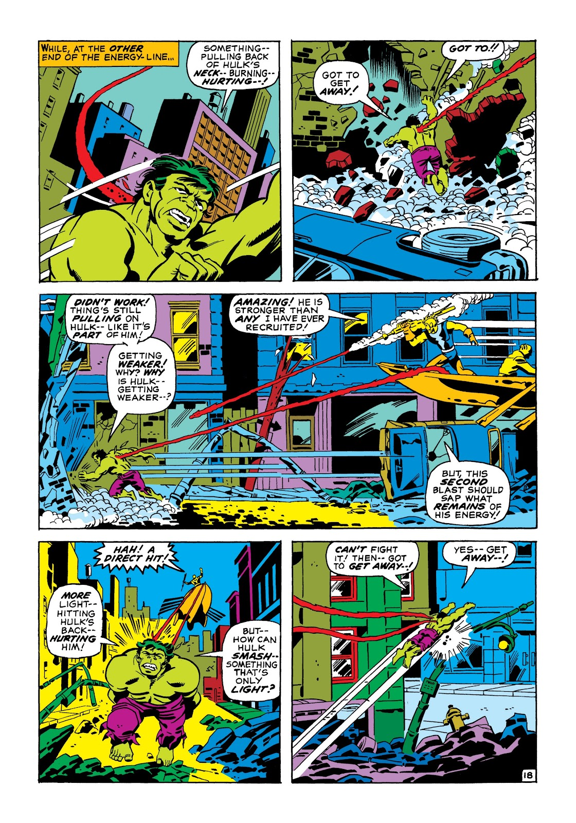 Read online Marvel Masterworks: The Incredible Hulk comic -  Issue # TPB 7 (Part 1) - 44
