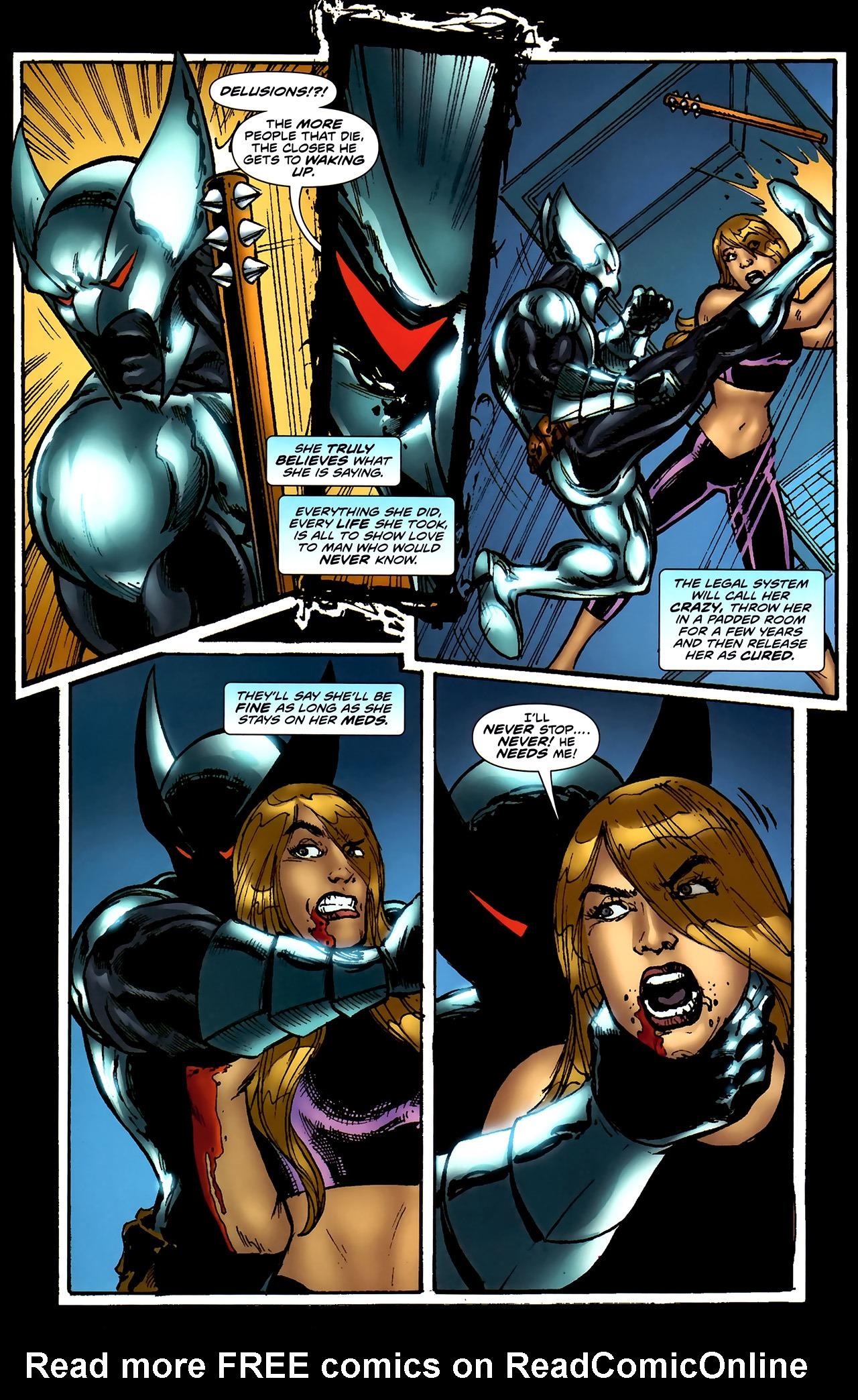 Read online ShadowHawk (2010) comic -  Issue #4 - 23