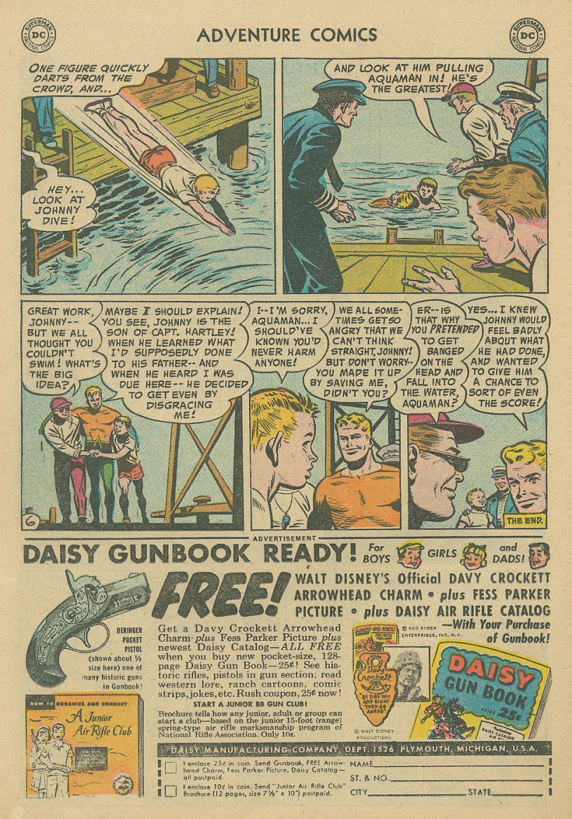 Read online Adventure Comics (1938) comic -  Issue #221 - 21