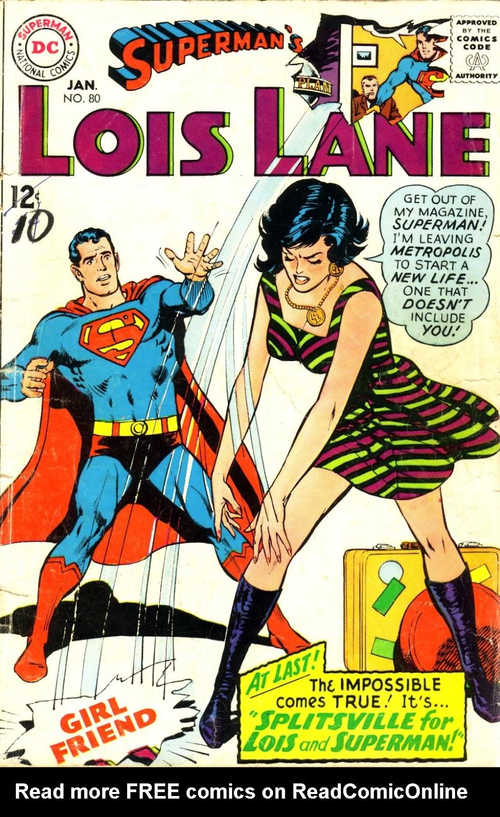 Supermans Girl Friend, Lois Lane 80 Page 1