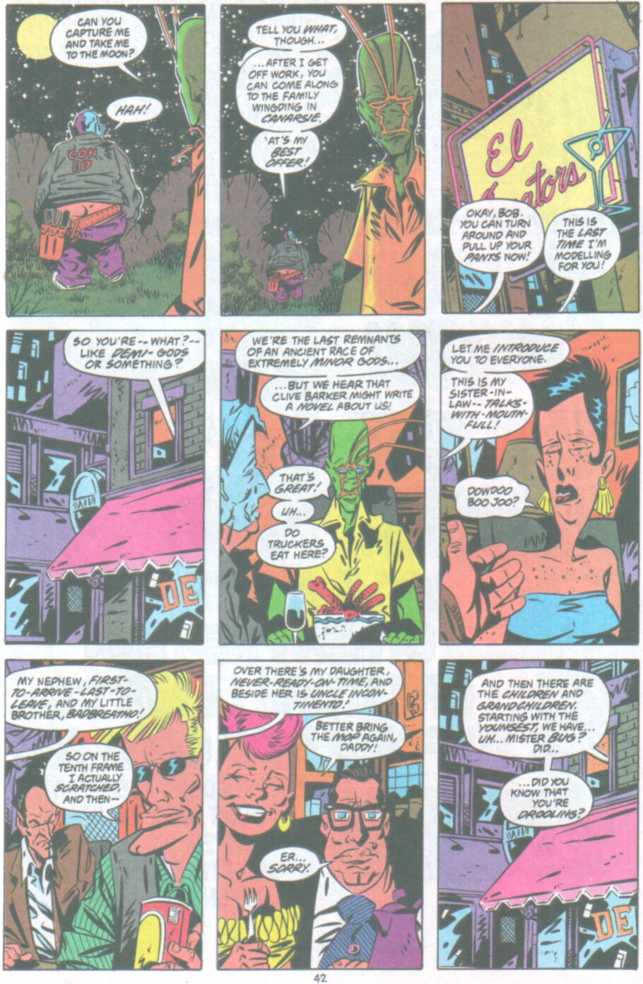 Read online Ambush Bug Nothing Special comic -  Issue # Full - 35