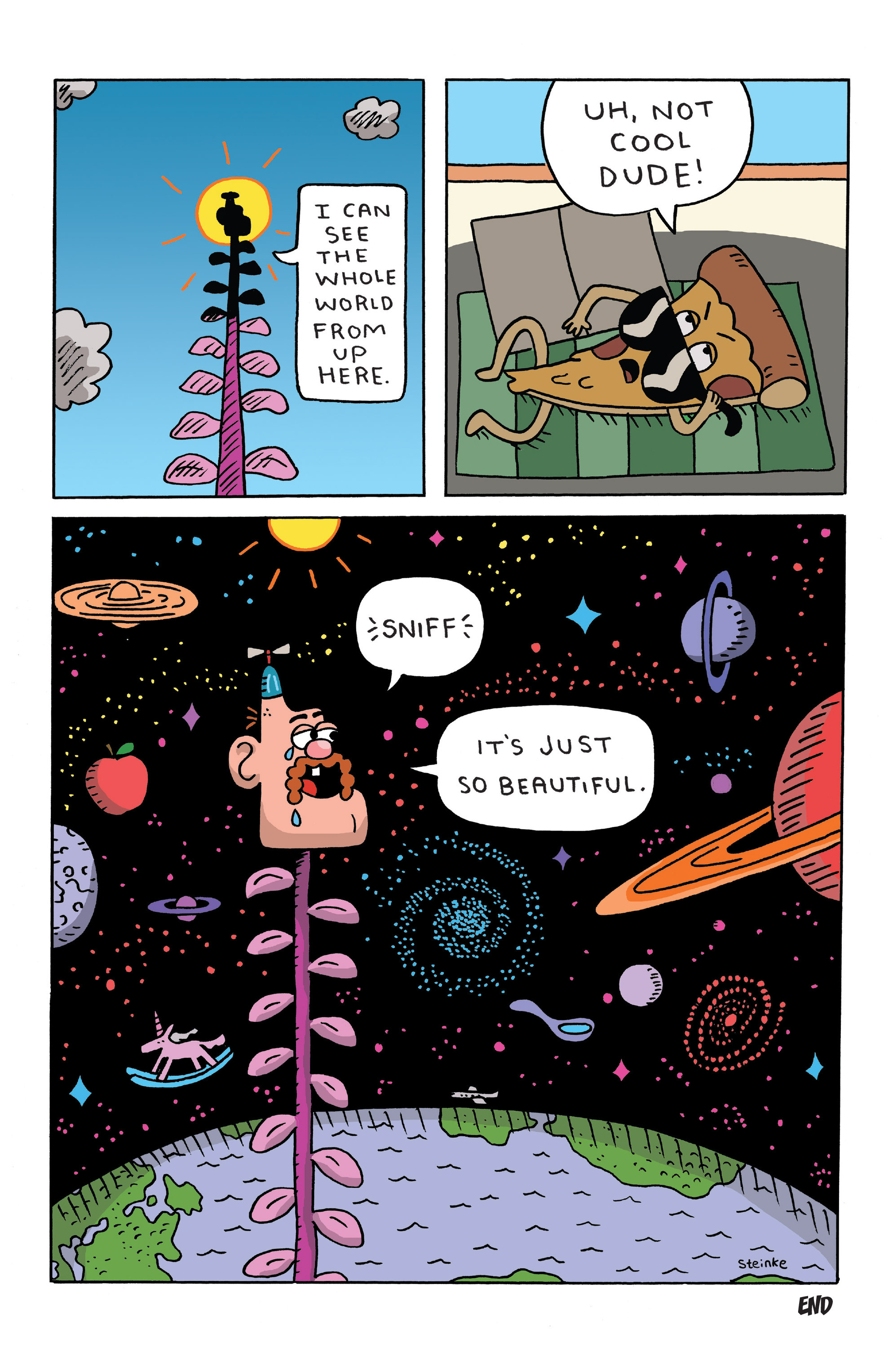 Read online Uncle Grandpa comic -  Issue #4 - 6