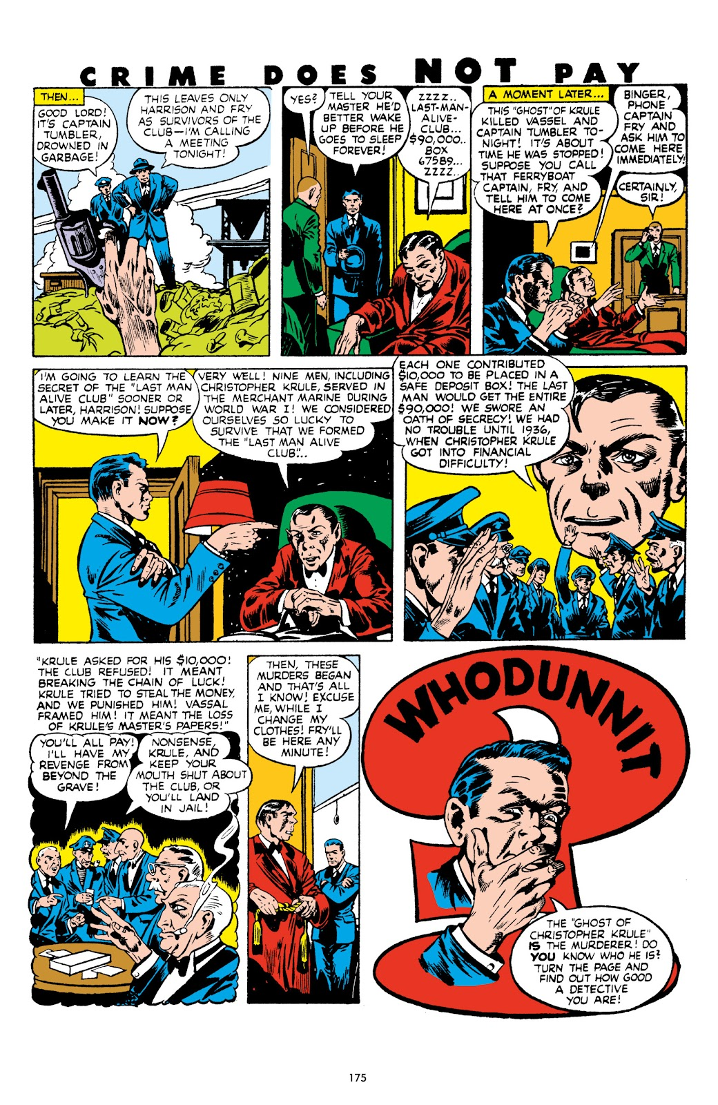 Read online Crime Does Not Pay Archives comic -  Issue # TPB 8 (Part 2) - 76