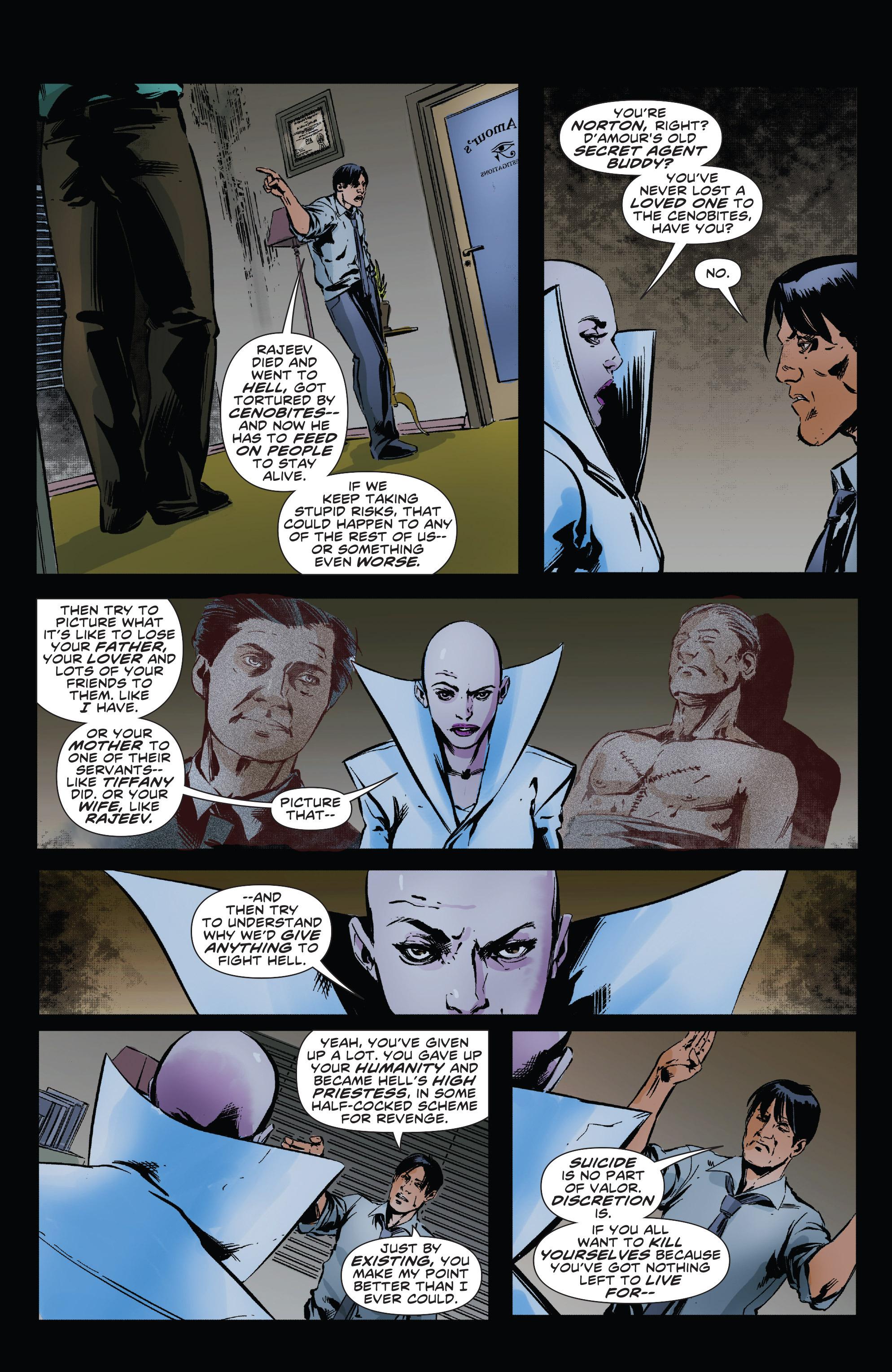 Read online Clive Barker's Hellraiser: The Dark Watch comic -  Issue # TPB 3 - 42