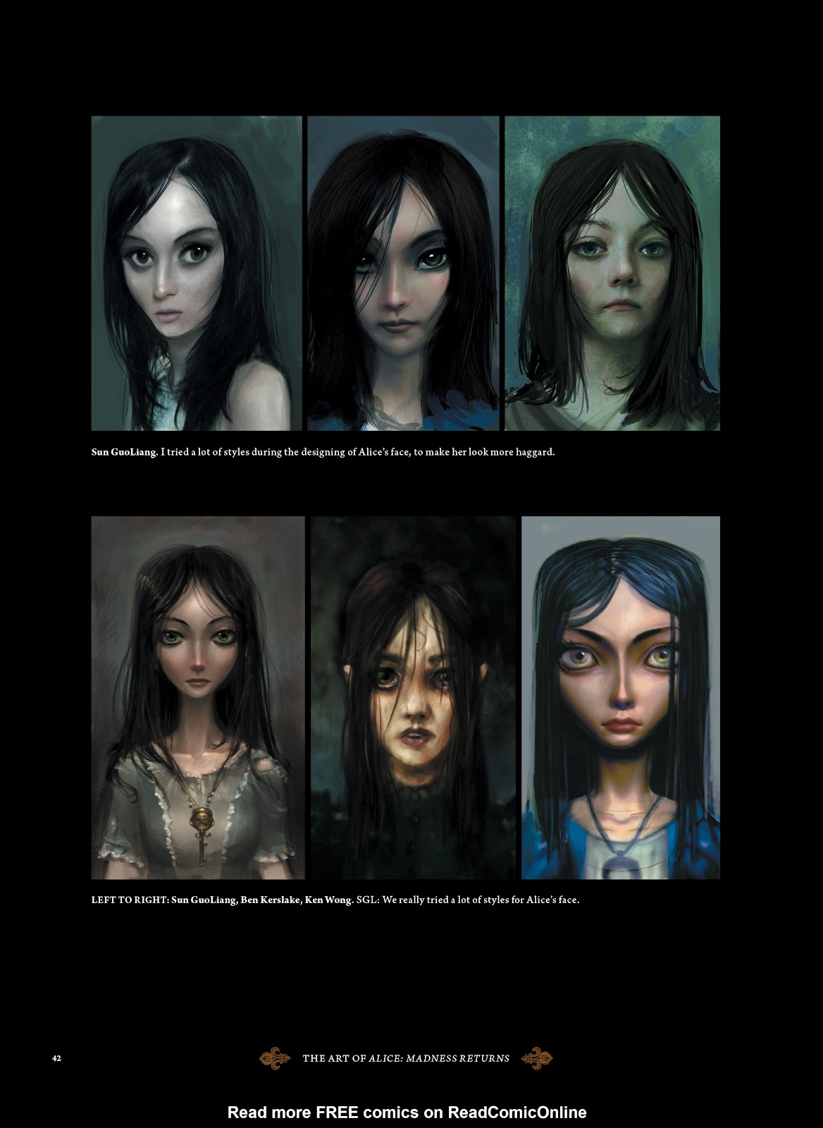 Read online The Art of Alice: Madness Returns comic -  Issue # TPB (Part 1) - 39