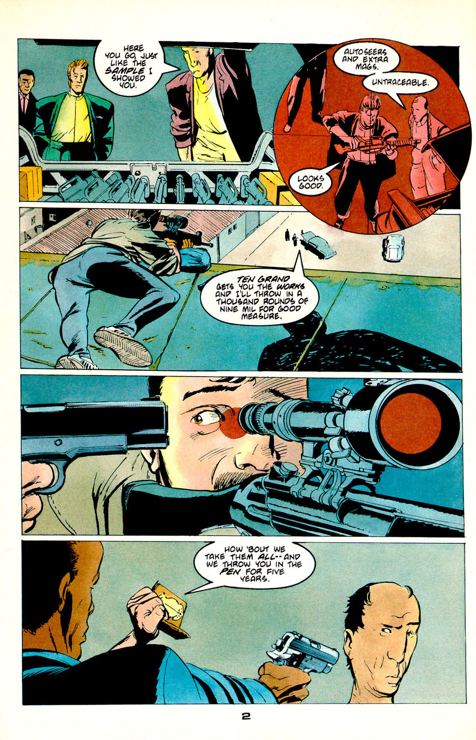 Jon Sable, Freelance issue 54 - Page 4