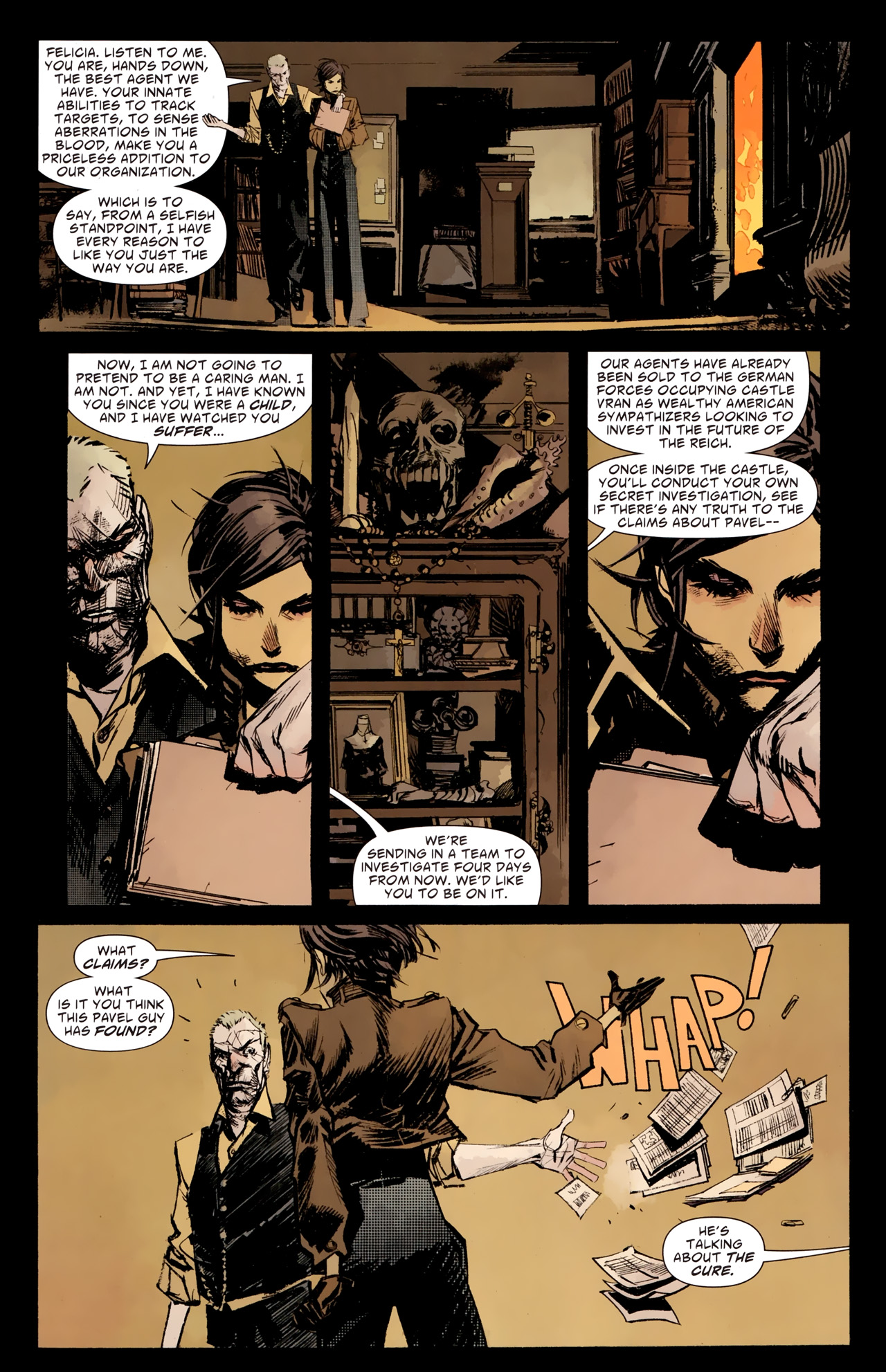 Read online American Vampire: Survival of the Fittest comic -  Issue #1 - 20