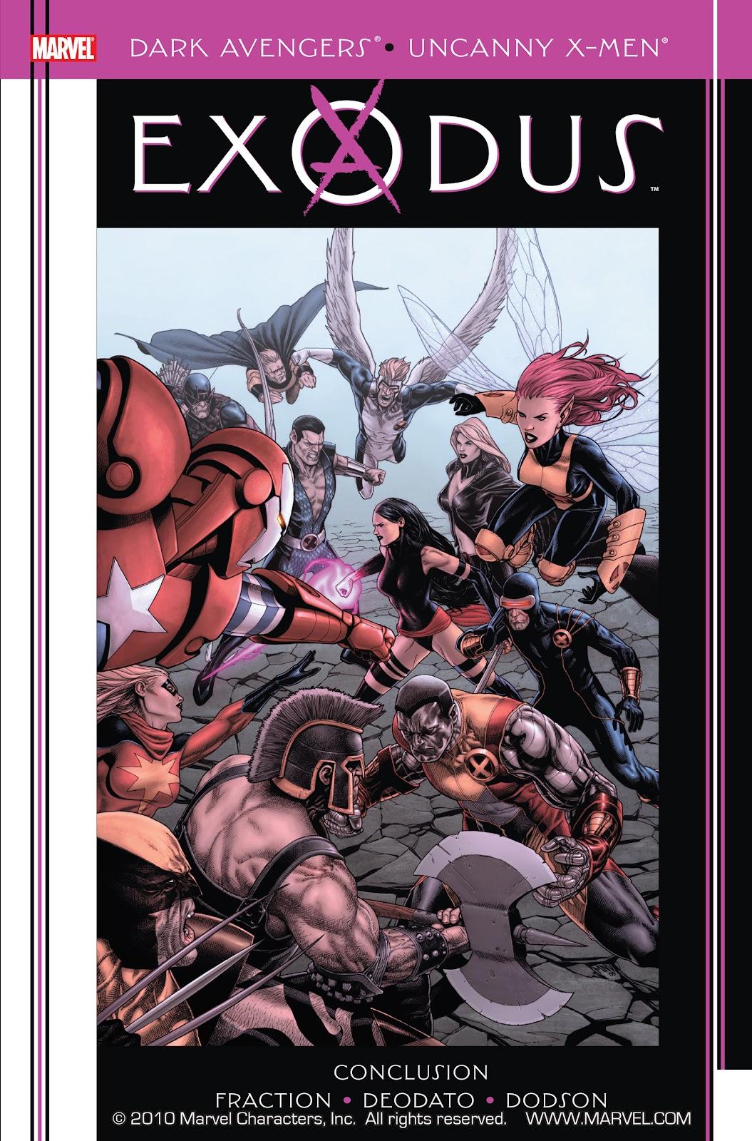Dark Avengers/Uncanny X-Men: Exodus issue Full - Page 1