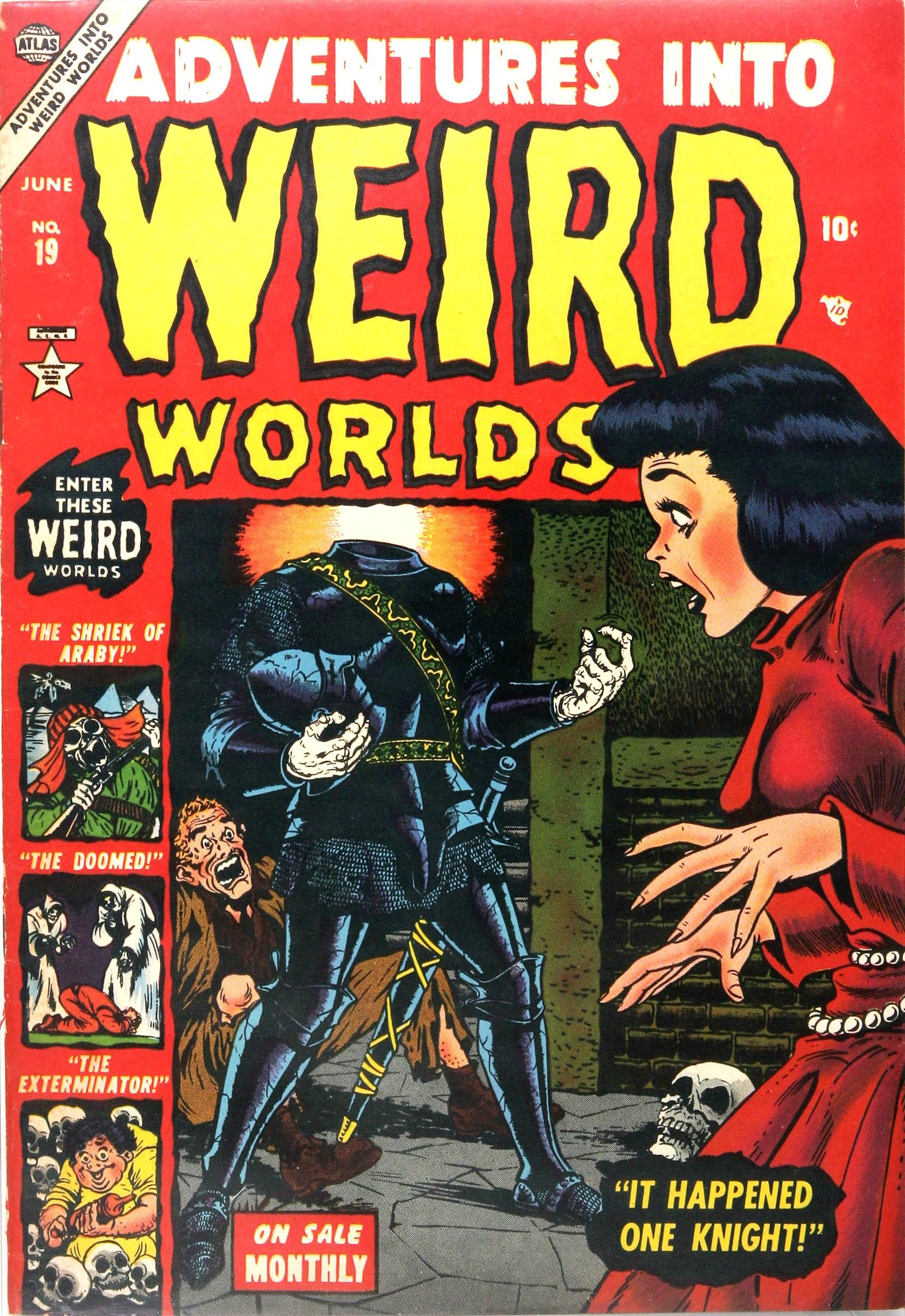 Read online Adventures into Weird Worlds comic -  Issue #19 - 1