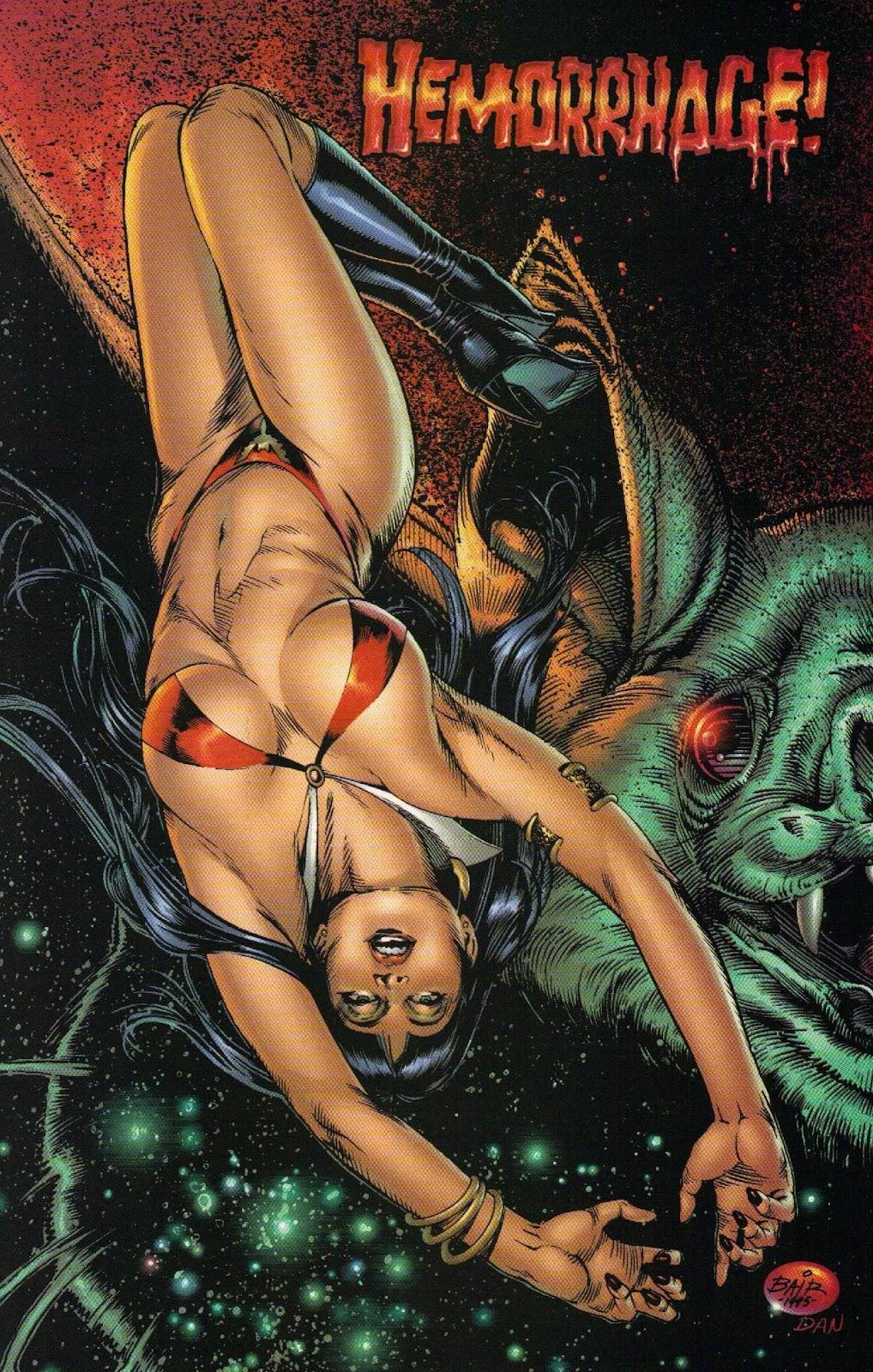 Vampirella vs Hemorrhage issue 1 - Page 7