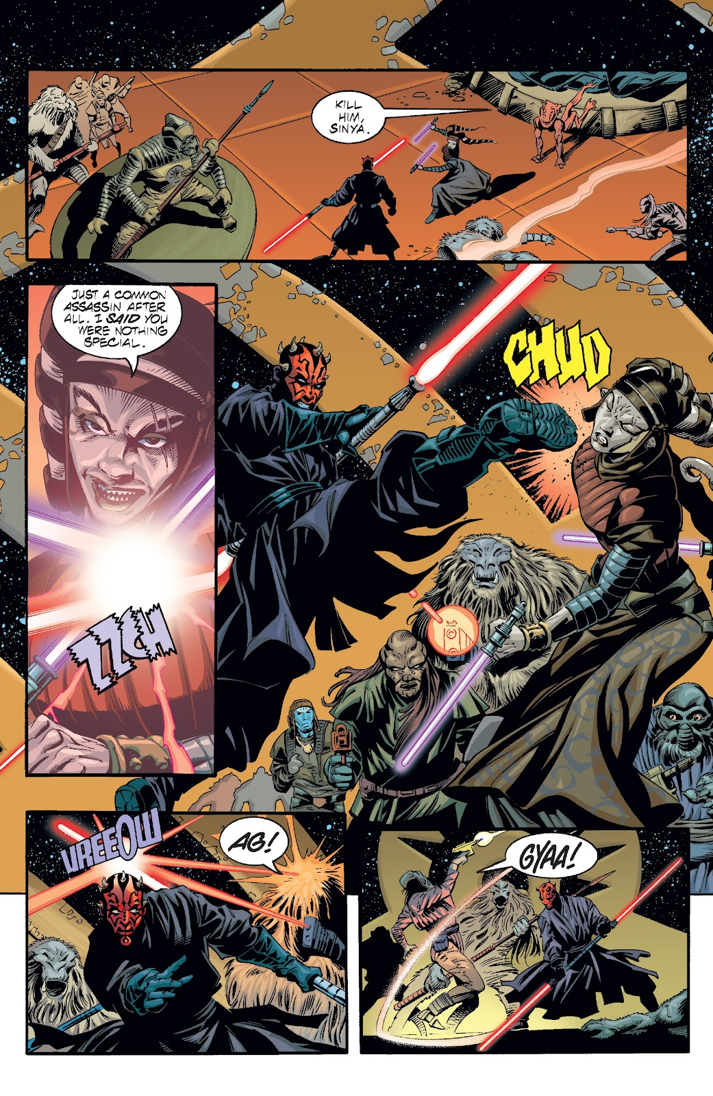 Read online Star Wars Legends: Rise of the Sith - Epic Collection comic -  Issue # TPB 2 (Part 2) - 77