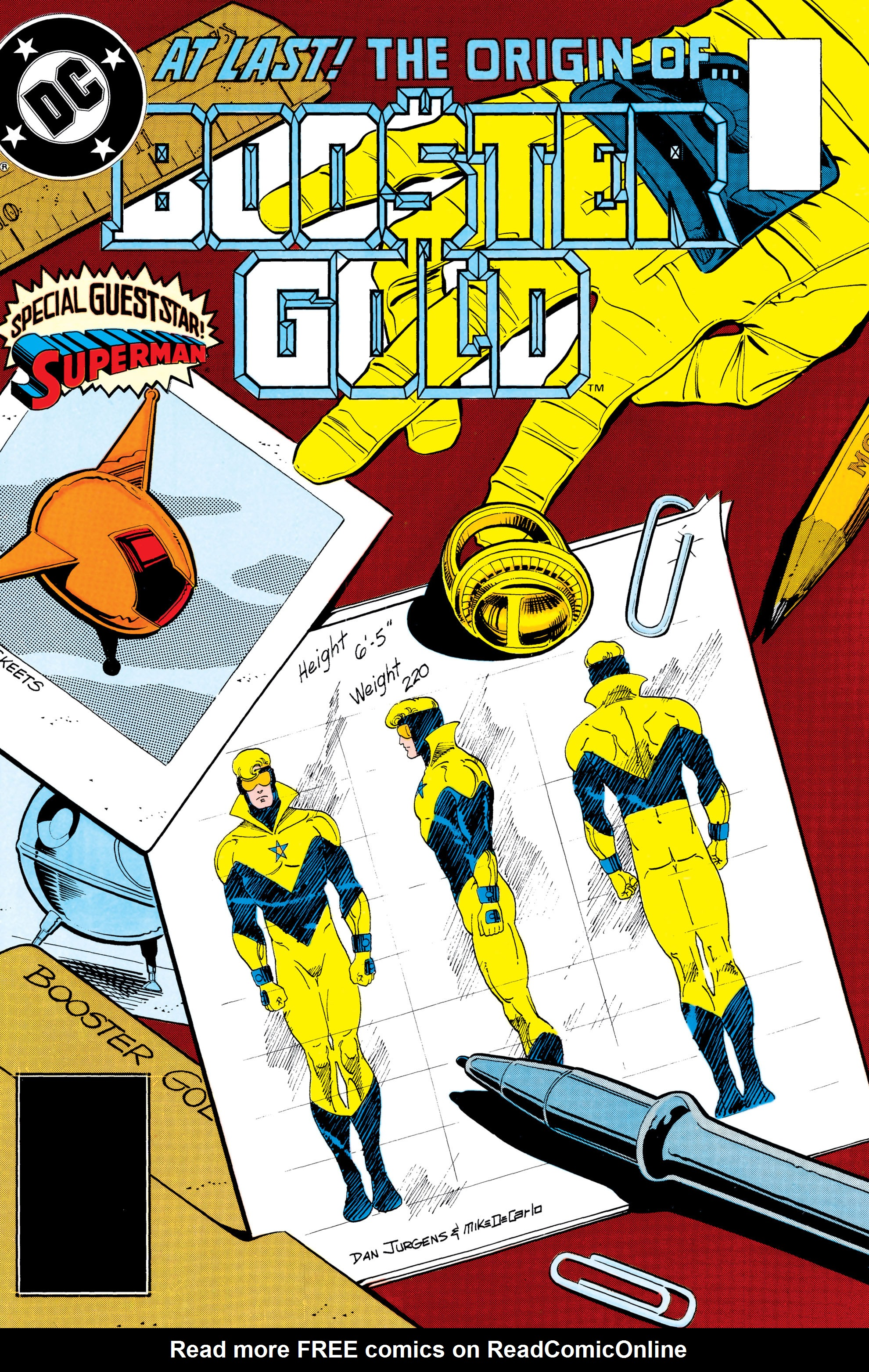 Booster Gold 1986 Issue 6