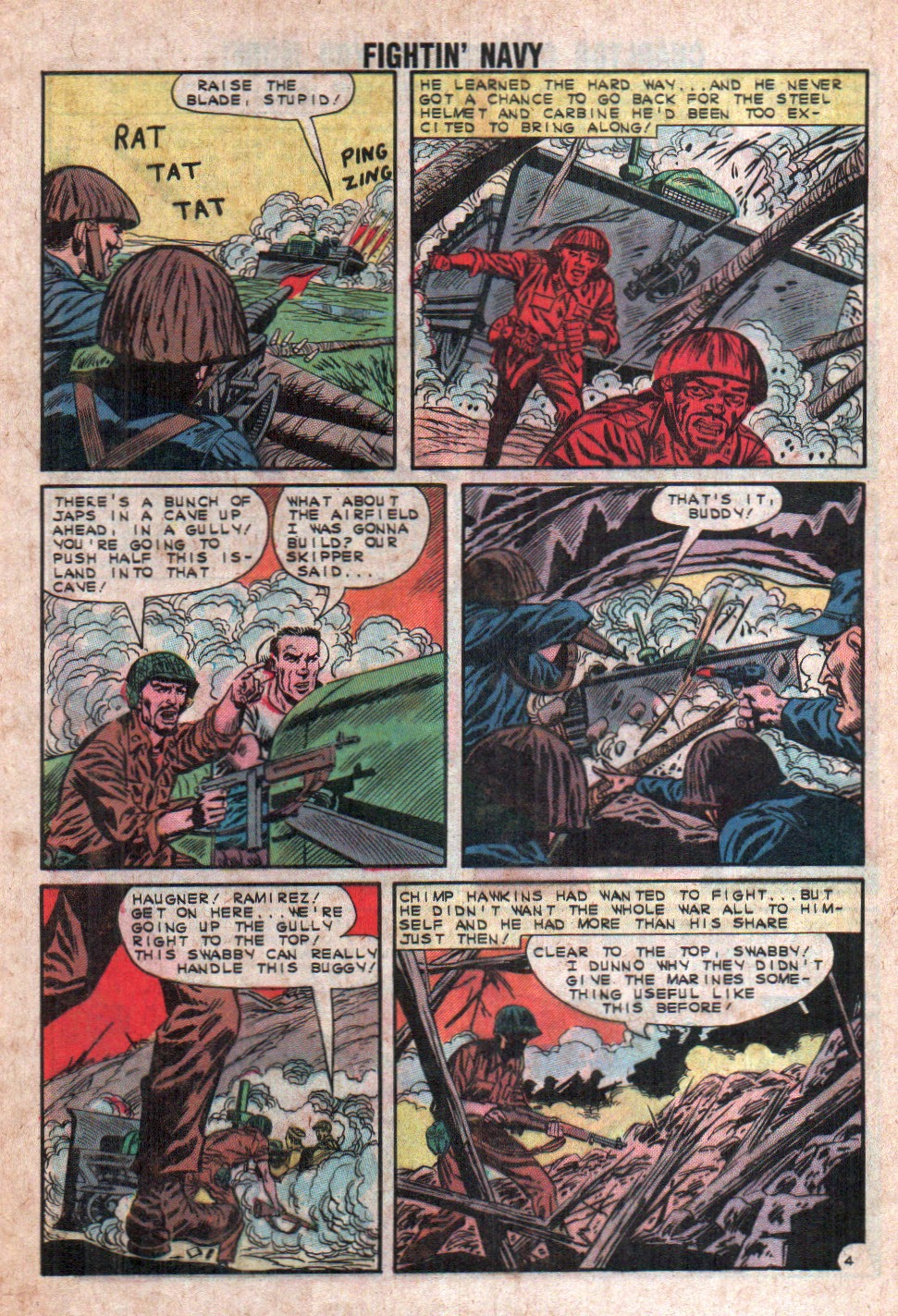 Read online Fightin' Navy comic -  Issue #108 - 28