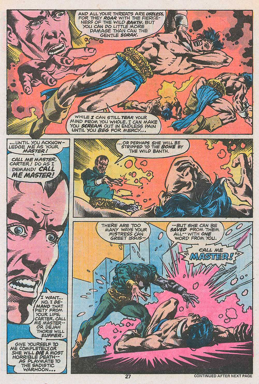 John Carter Warlord of Mars issue 3 - Page 29