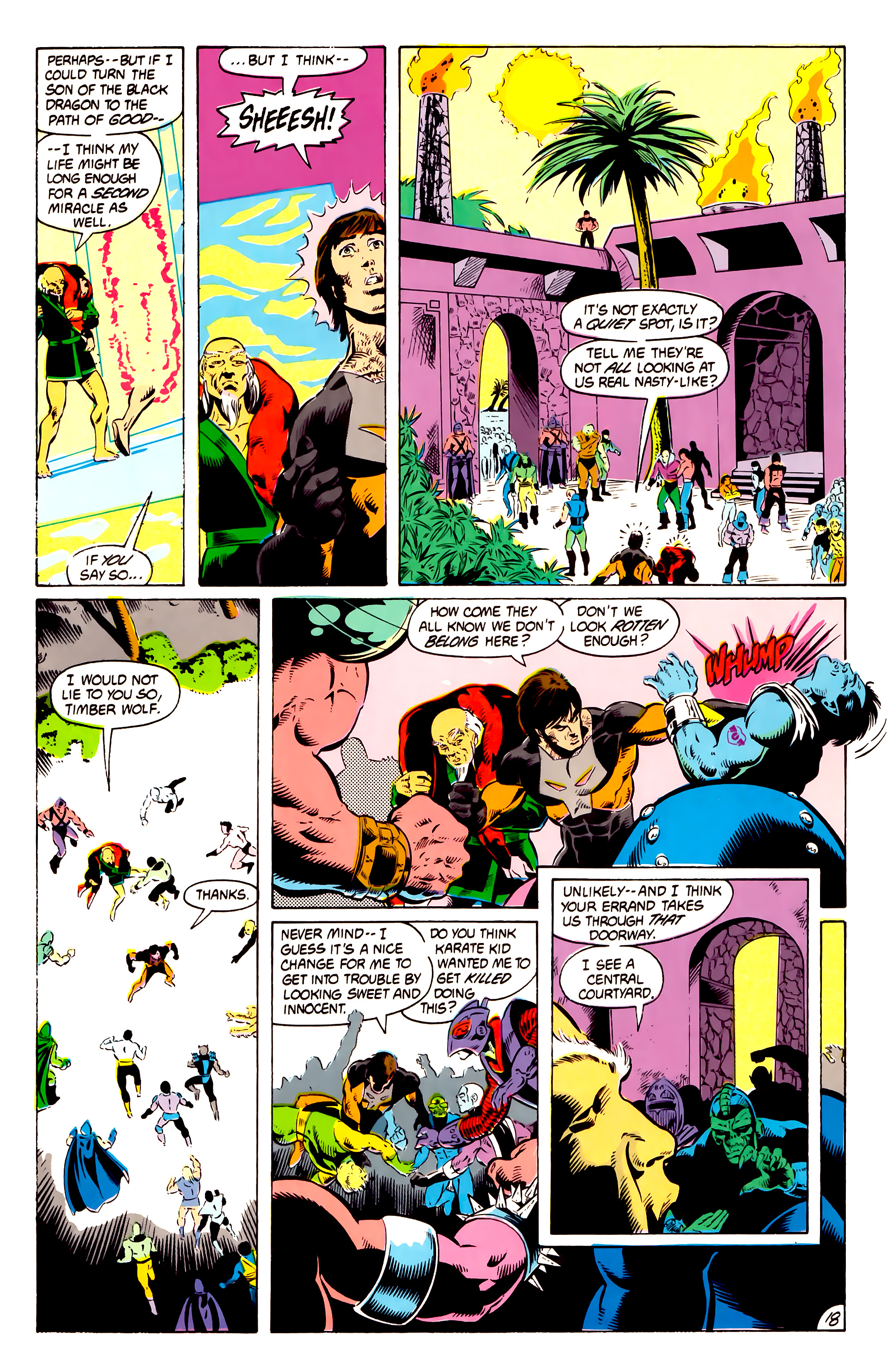 Legion of Super-Heroes (1984) 13 Page 19