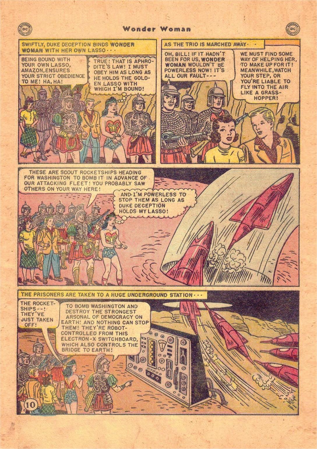 Read online Wonder Woman (1942) comic -  Issue #47 - 45
